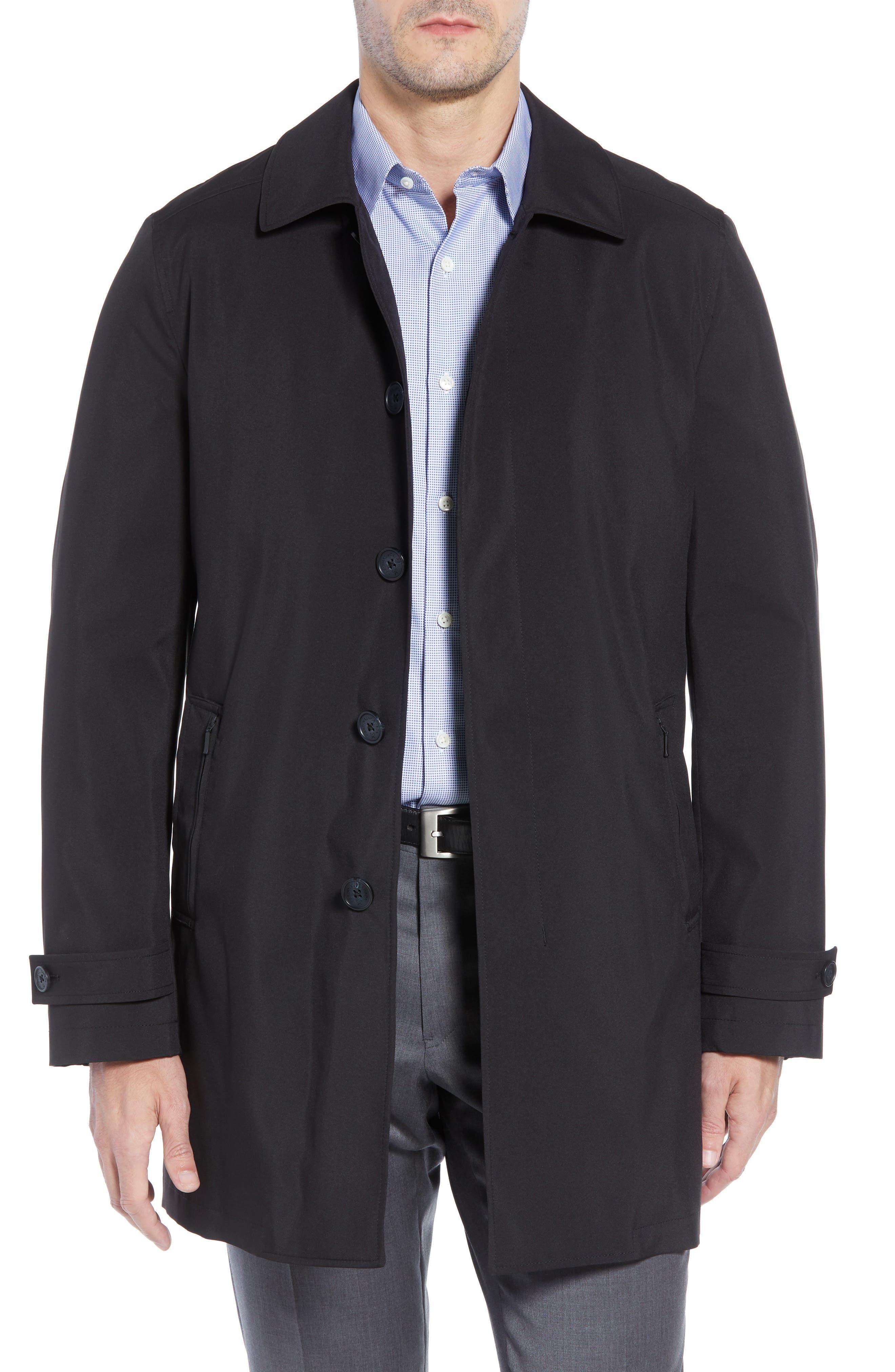 Raincoat,                         Main,                         color, BLACK