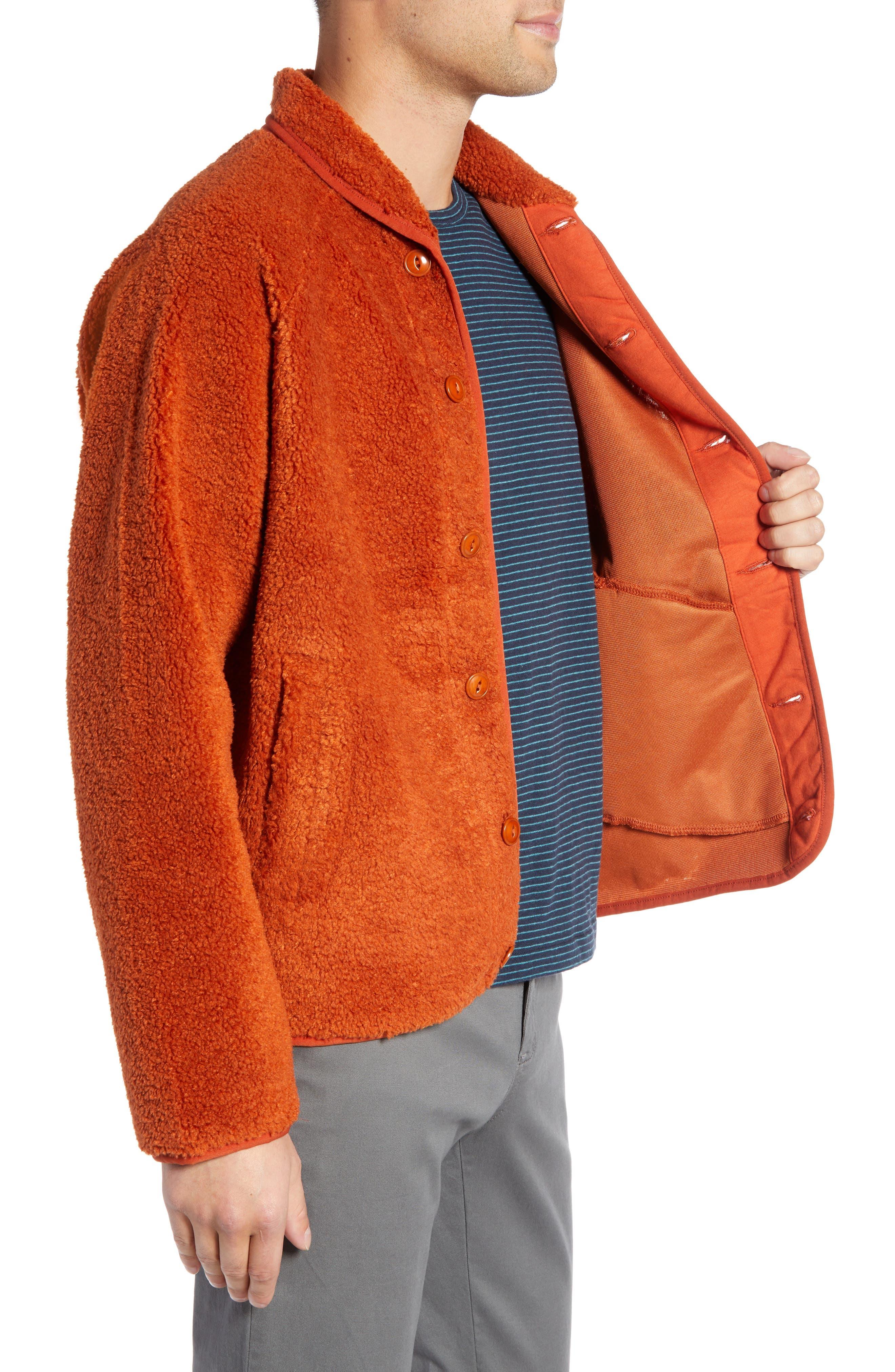 Beach Fleece Jacket,                             Alternate thumbnail 3, color,                             600