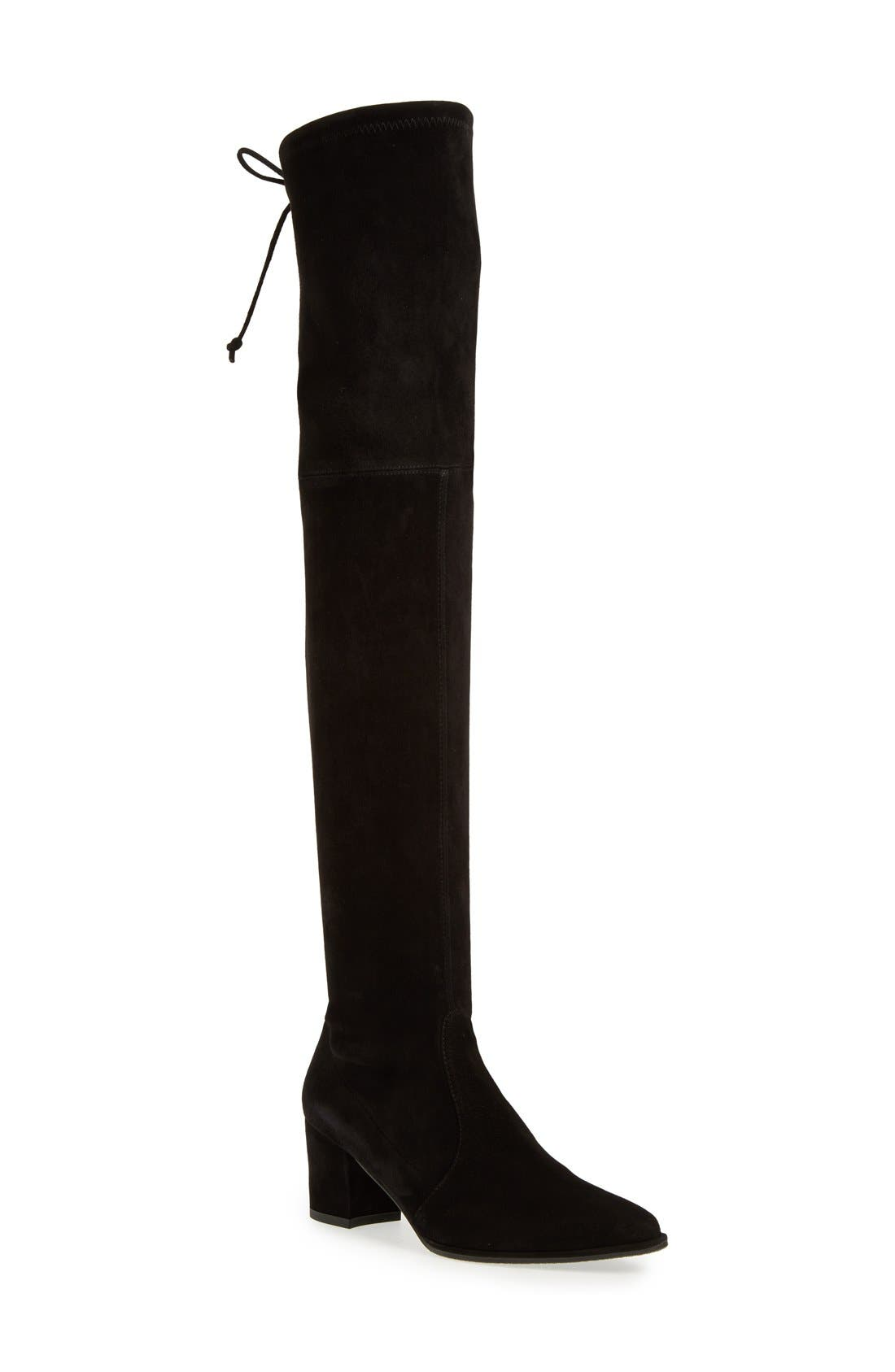 Thighland Over the Knee Boot,                             Main thumbnail 1, color,                             001