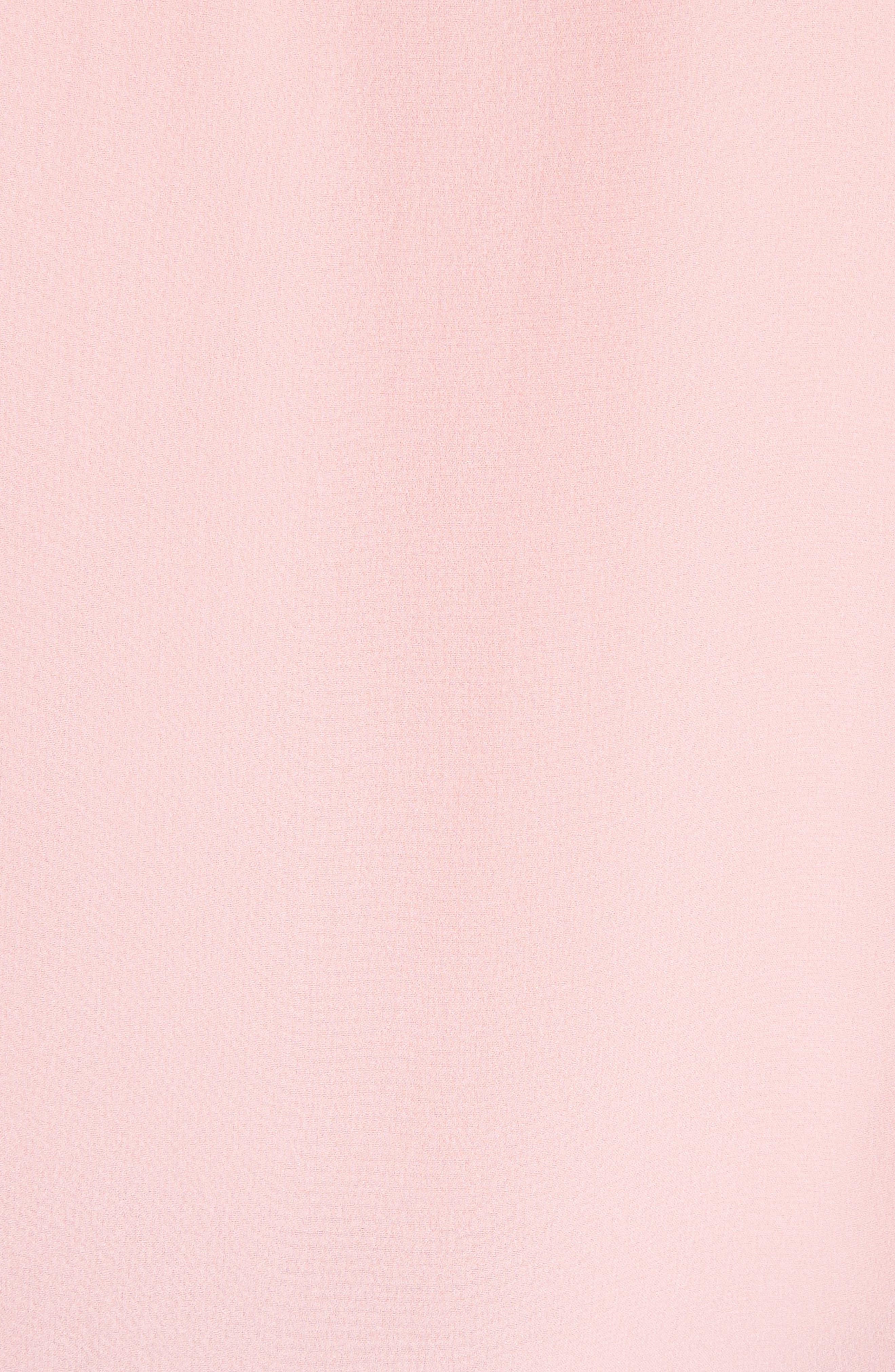 Jerrica Bell Sleeve Silk Blouse,                             Alternate thumbnail 5, color,