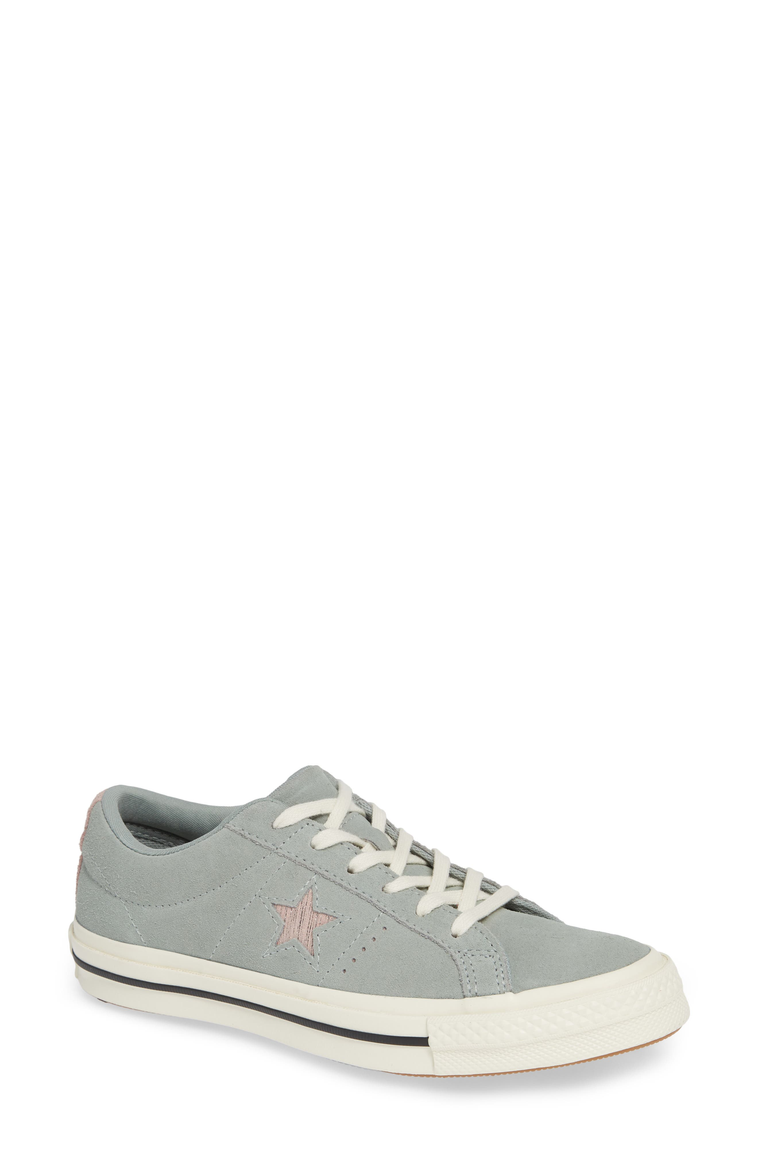 One Star Suede Low Top Sneaker,                             Main thumbnail 3, color,