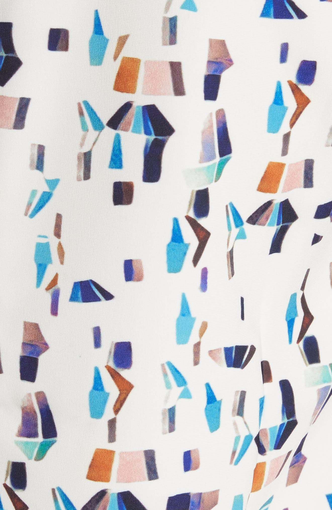 Limina Print Shift Dress,                             Alternate thumbnail 5, color,                             900