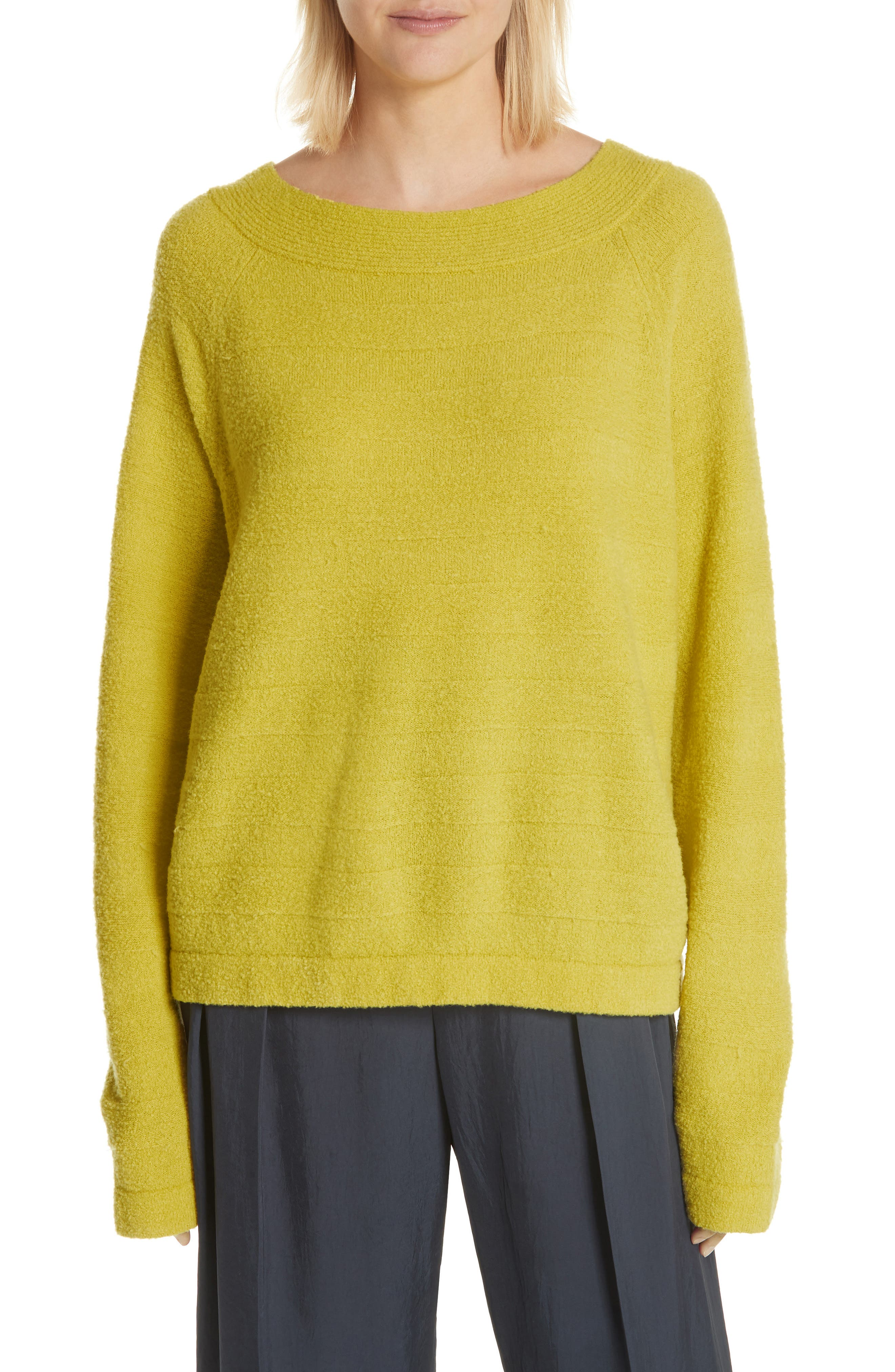 Merino Wool Blend Knit Sweater,                         Main,                         color, 750