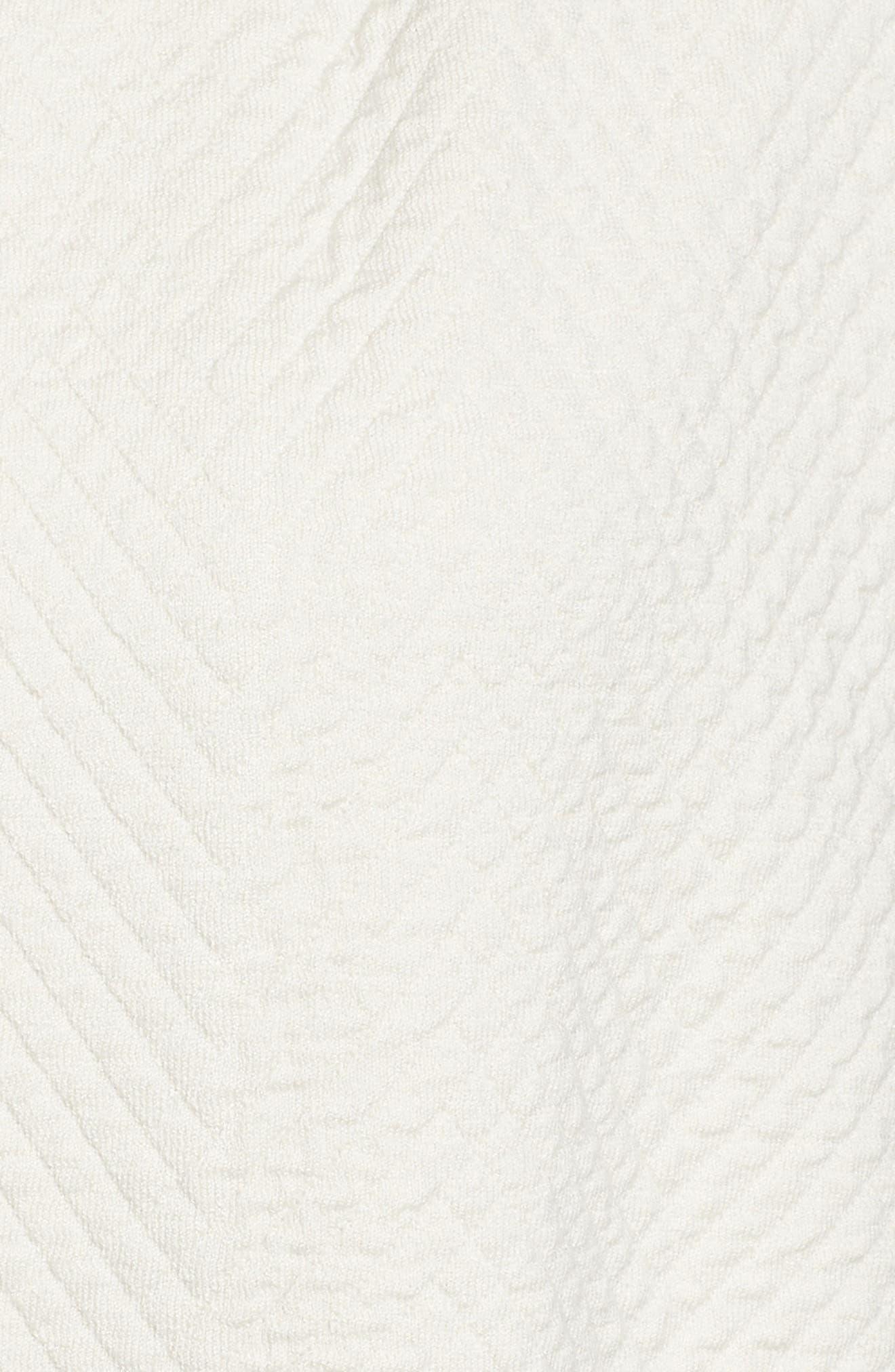 Silk Blend Jacquard Jacket,                             Alternate thumbnail 5, color,                             100