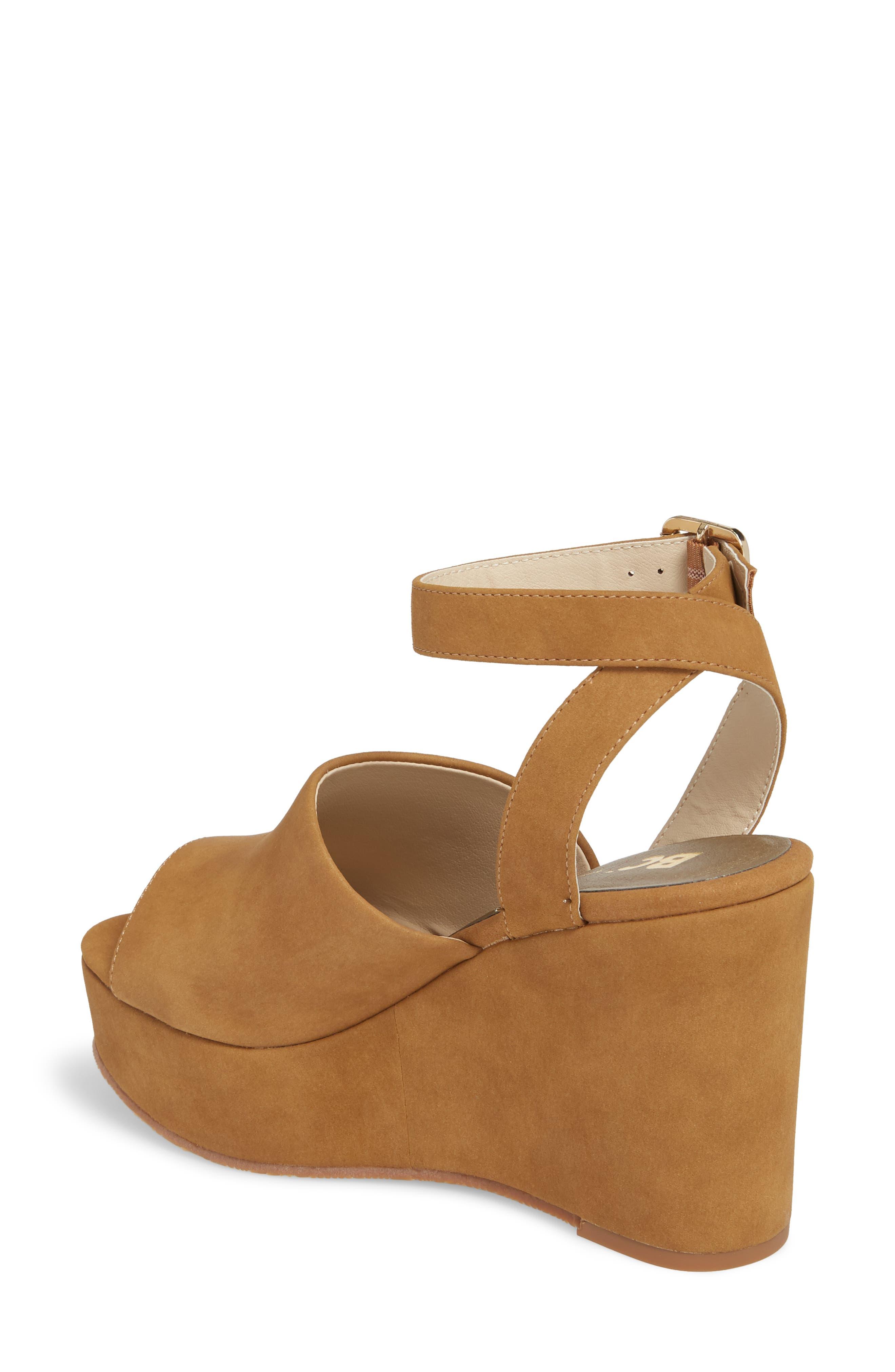 Admit One Platform Wedge Sandal,                             Alternate thumbnail 4, color,