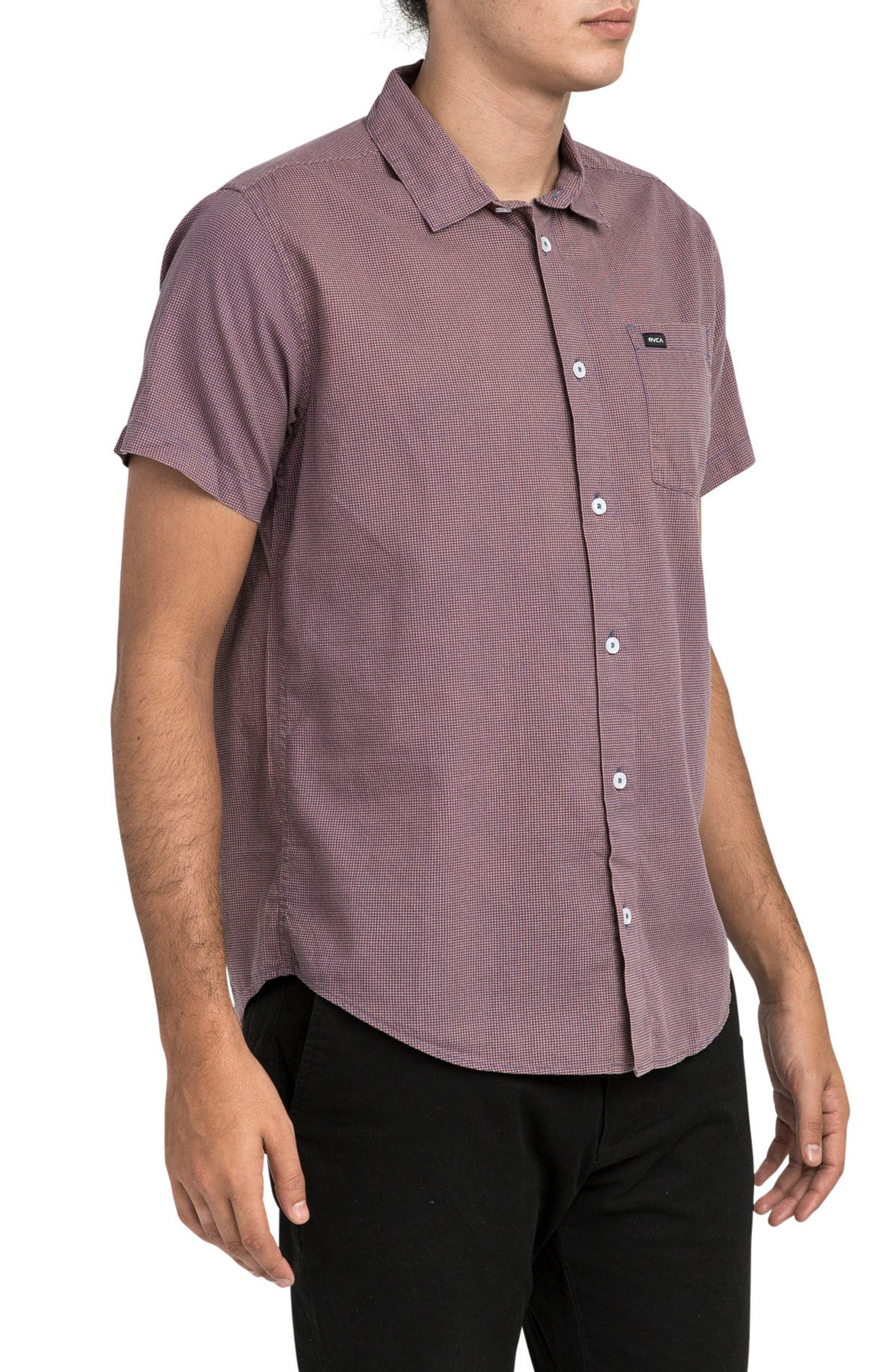 No Name Woven Shirt,                             Alternate thumbnail 3, color,                             600