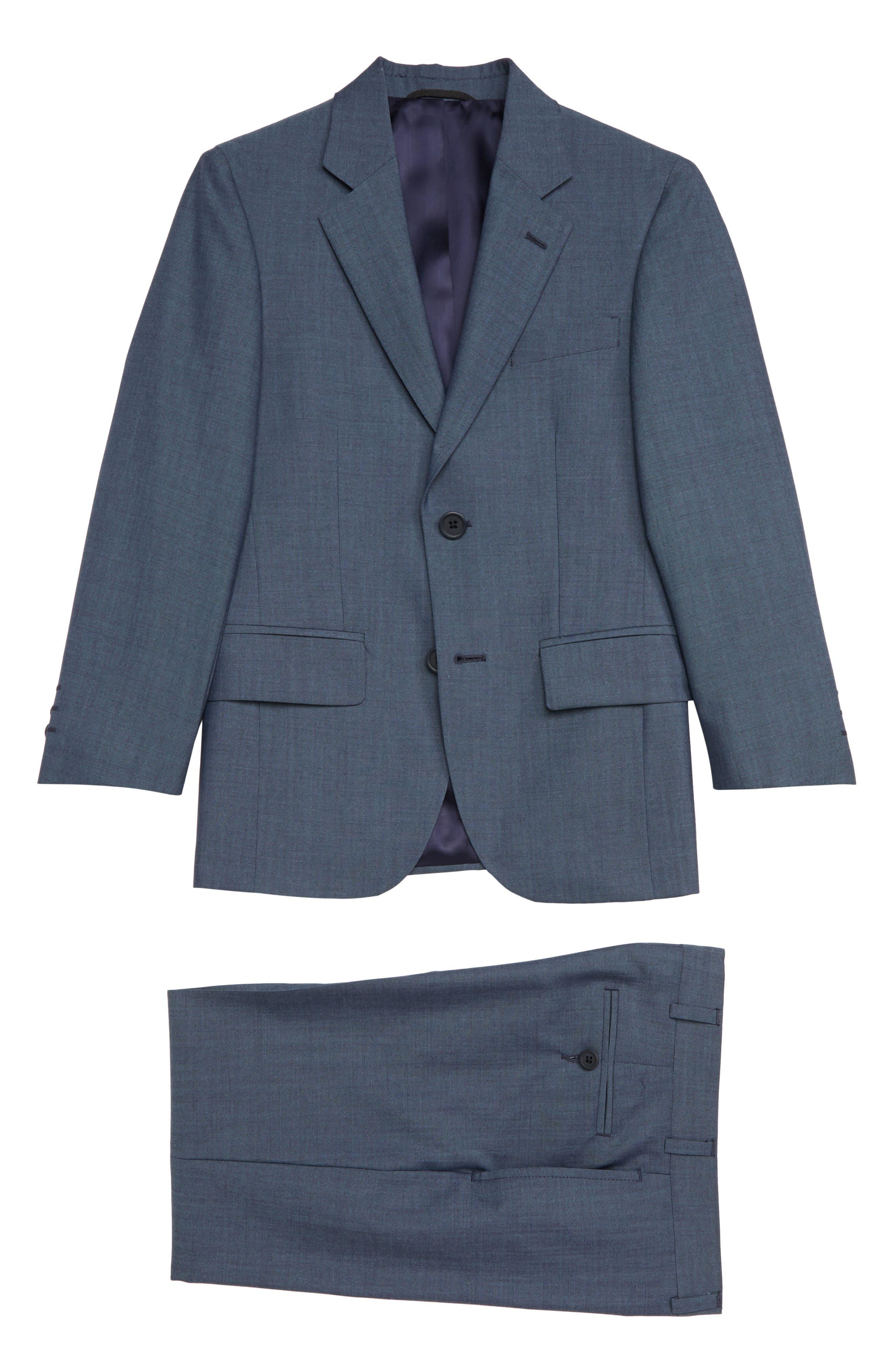 Boys Jb Jr TwoPiece Mohair Wool Suit