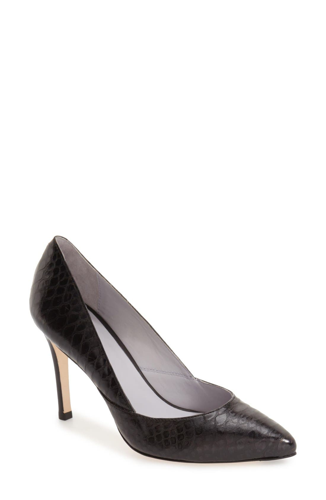'Vanessa' Pointy Toe Leather Pump,                             Main thumbnail 6, color,