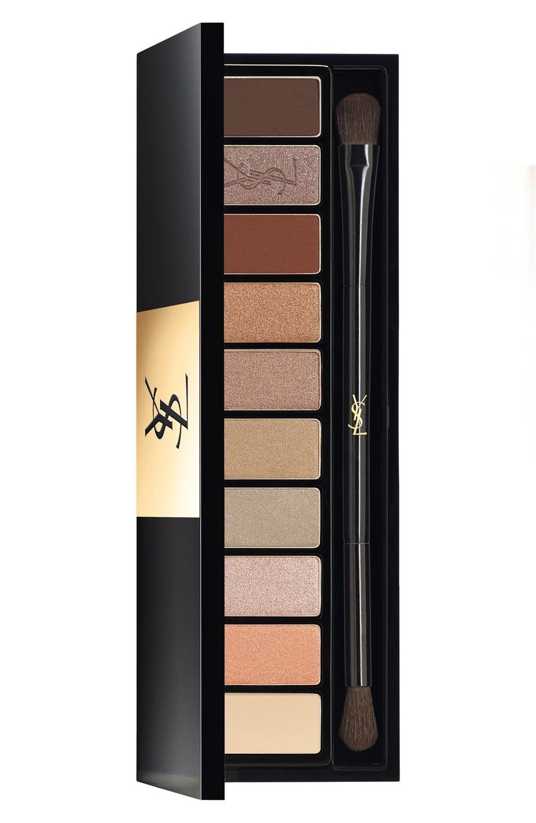 'Nude' Couture Variation Ten-Color Expert Eye Palette,                             Main thumbnail 1, color,                             01 NU