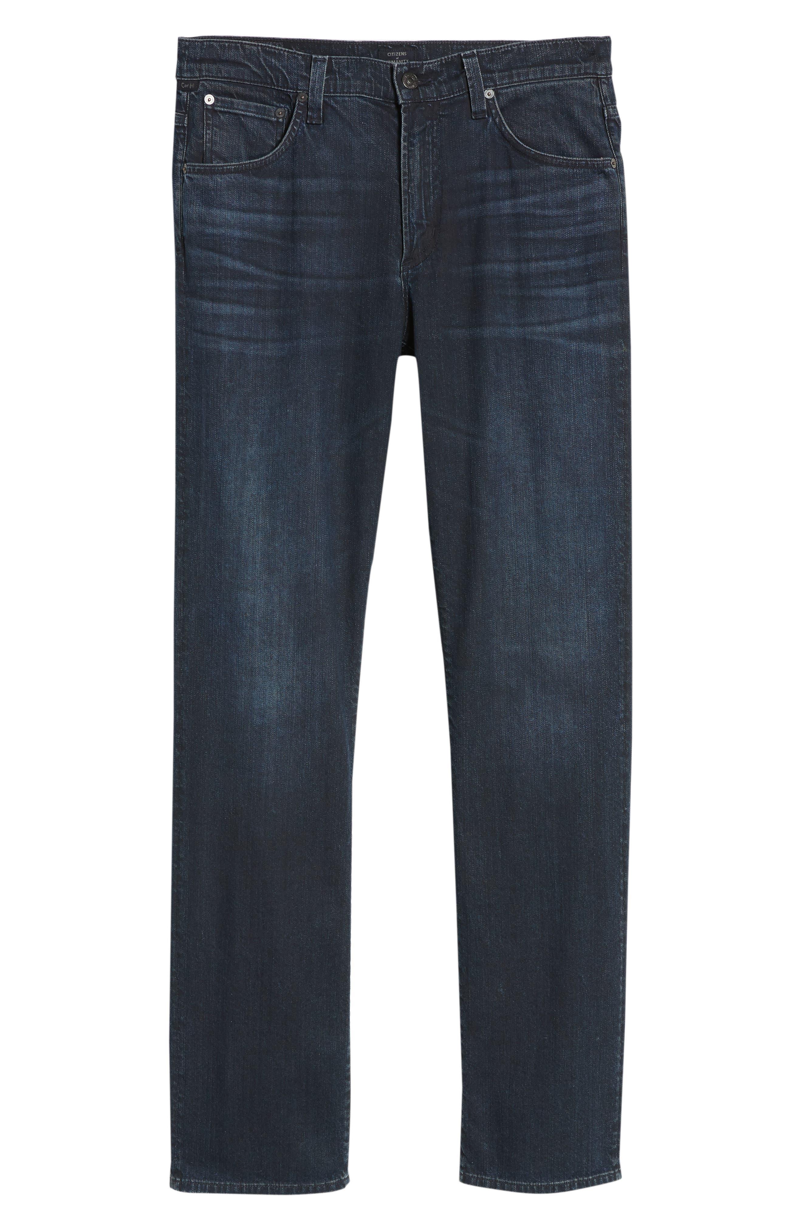 Sid Straight Leg Jeans,                             Alternate thumbnail 6, color,                             NATE
