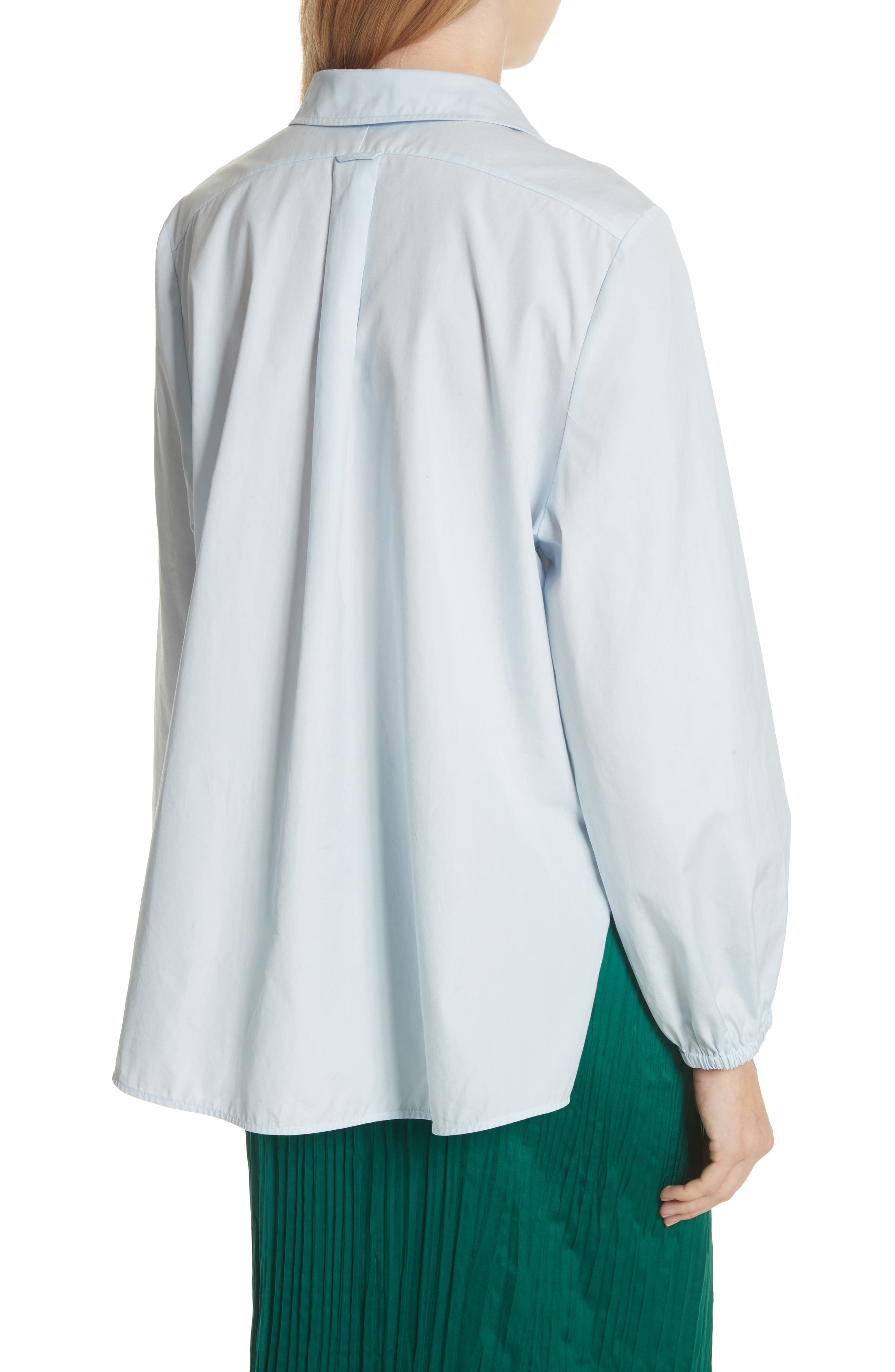 Swing Front Pullover Shirt,                             Alternate thumbnail 7, color,