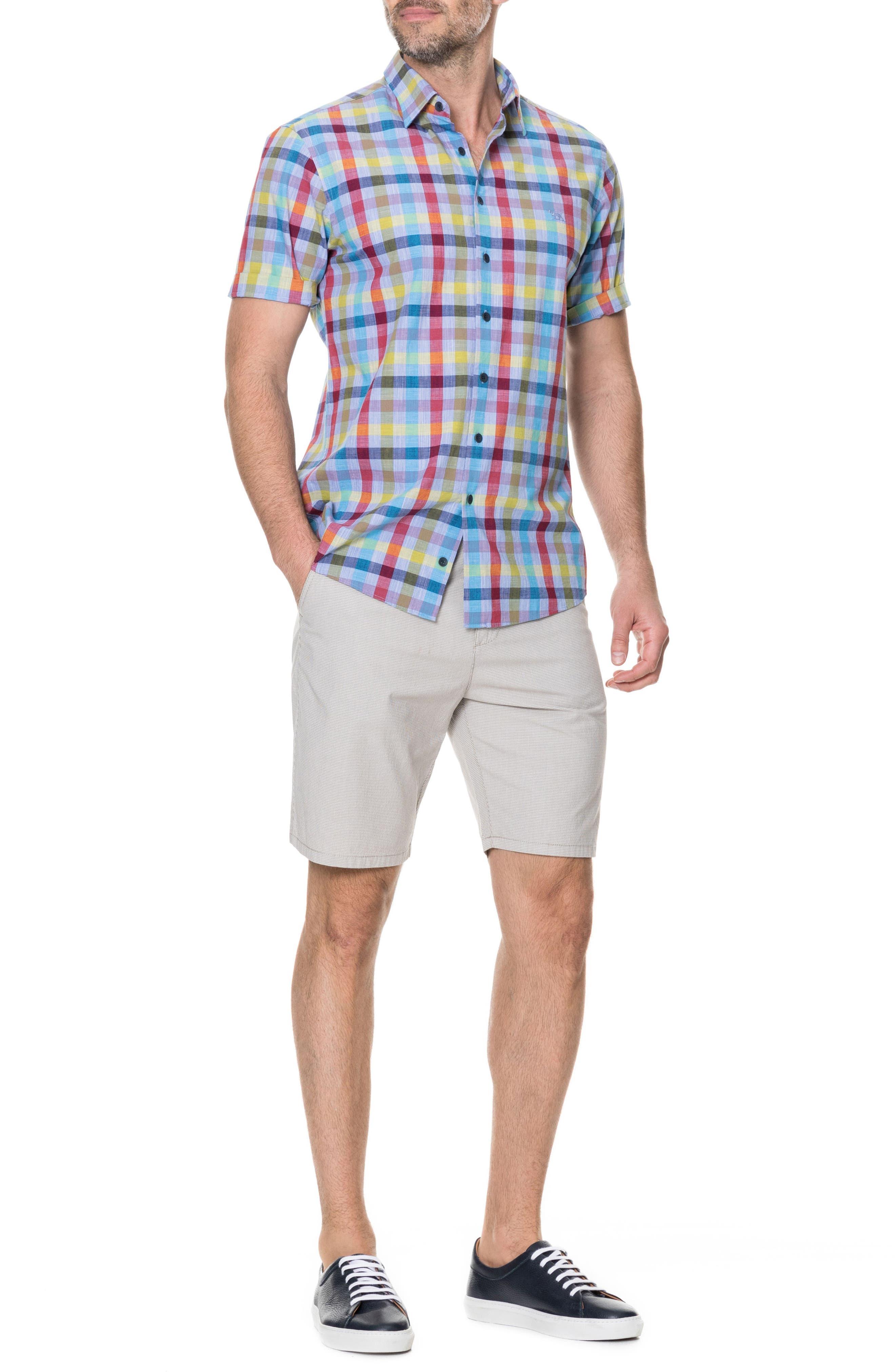 Alpers Regular Fit Sport Shirt,                             Alternate thumbnail 5, color,                             452