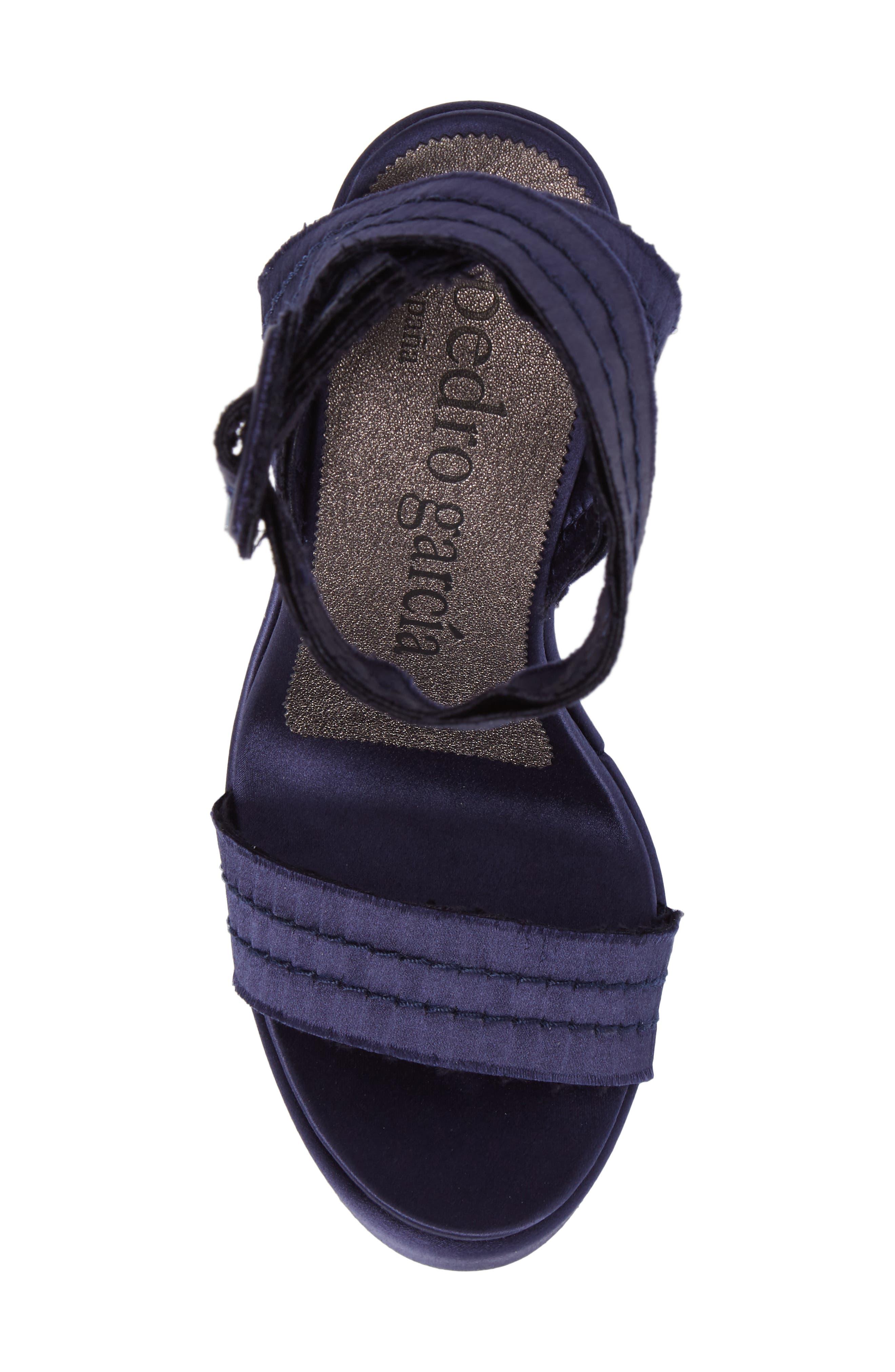 Thora Platform Sandal,                             Alternate thumbnail 5, color,                             400