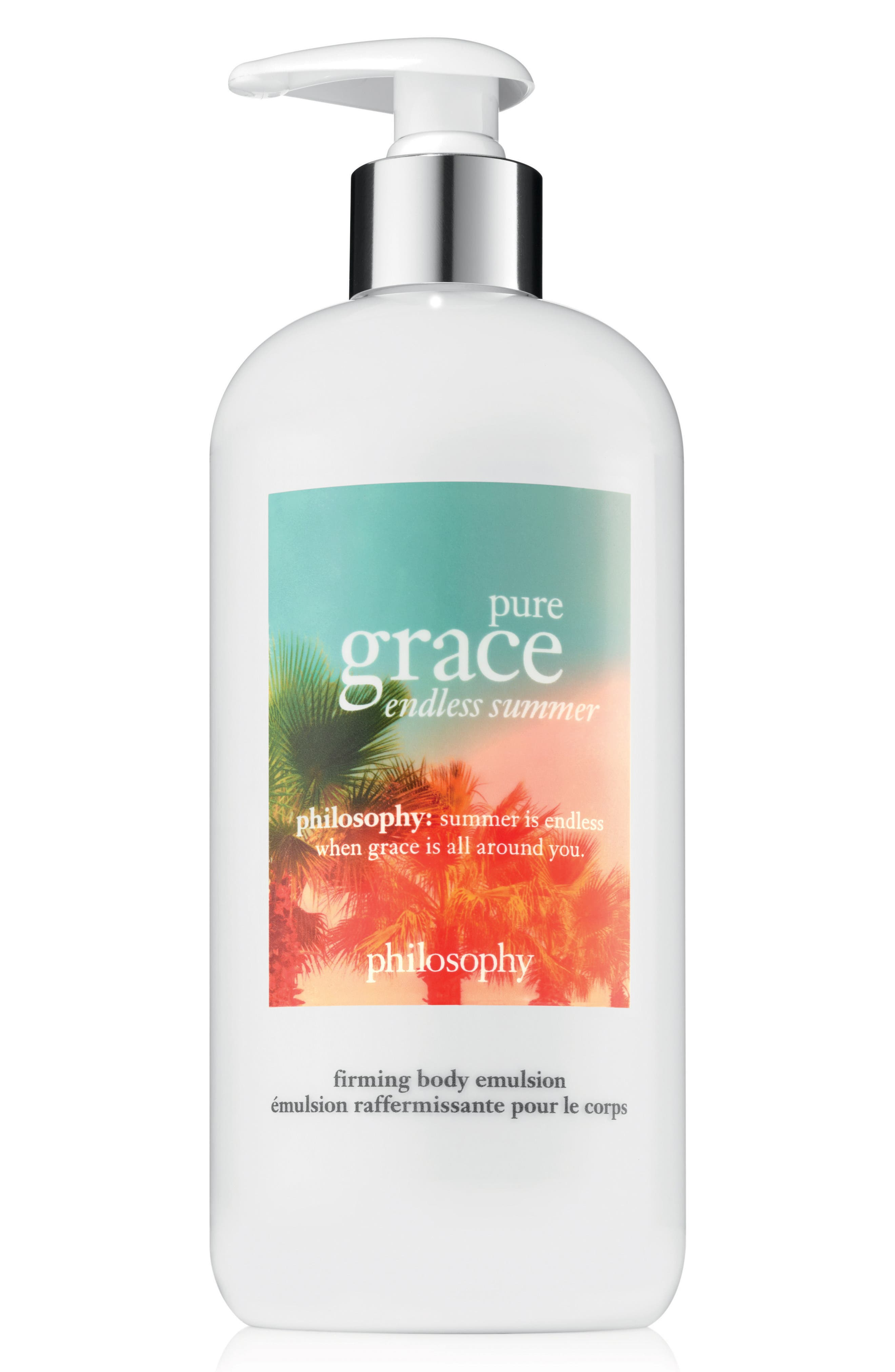 pure grace endless summer firming body emulsion,                             Main thumbnail 1, color,                             000