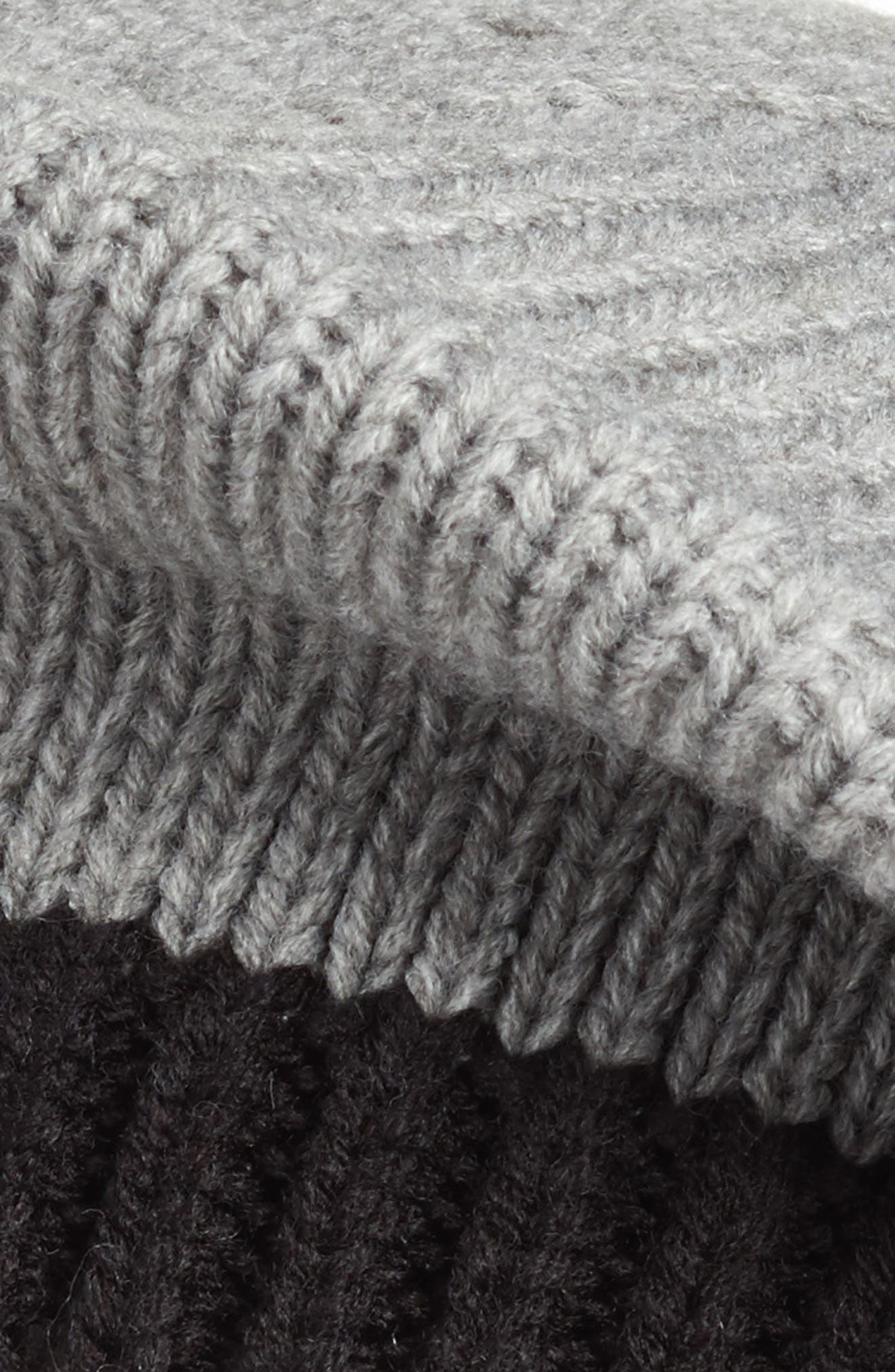 bow pom beret,                             Alternate thumbnail 4, color,