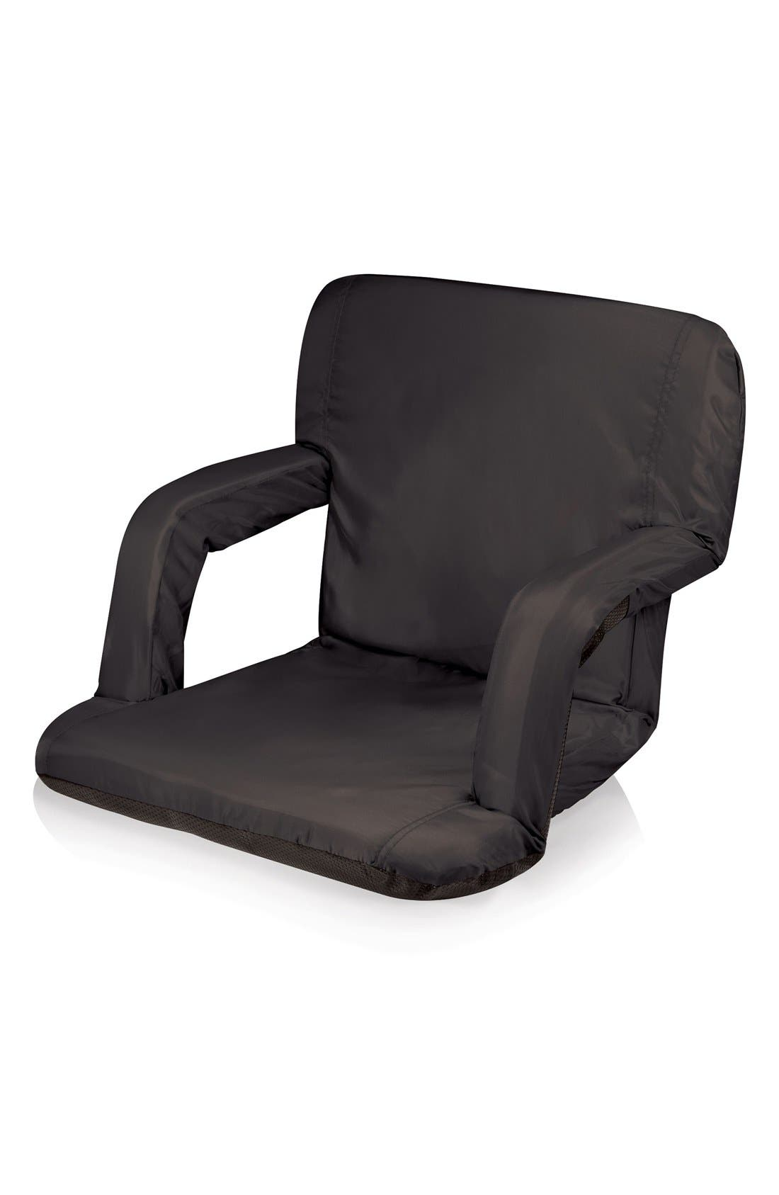 'VenturaSeat' Portable Fold-Up Chair,                         Main,                         color, BLACK