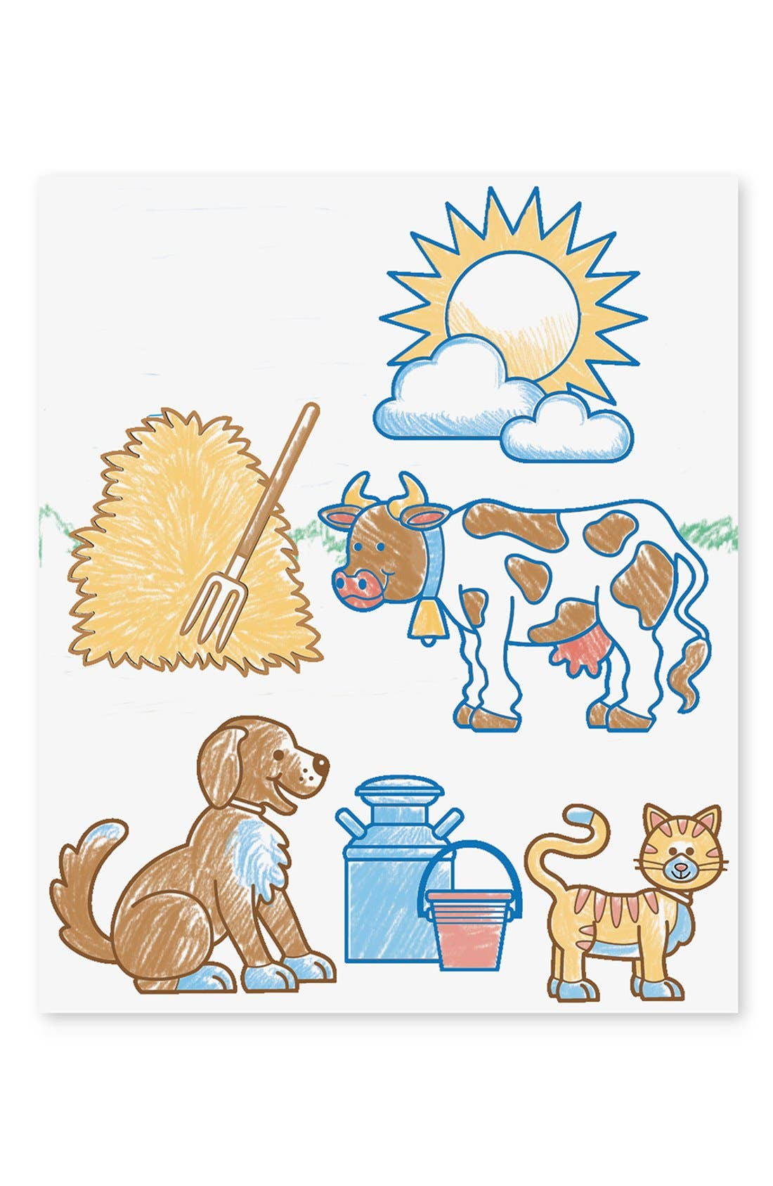 'Stamp-A-Scene - Farm' Stamp Set,                             Alternate thumbnail 3, color,                             NONE
