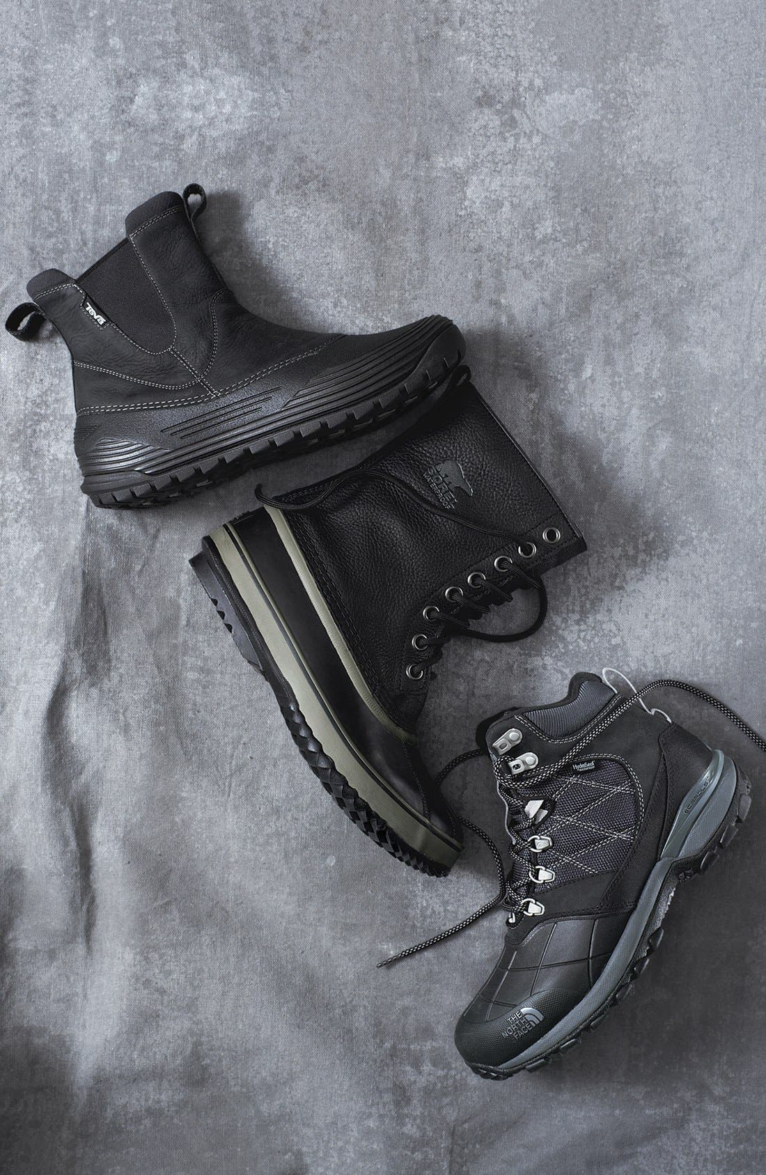 'Snowsquall' Snow Boot,                             Alternate thumbnail 7, color,                             001