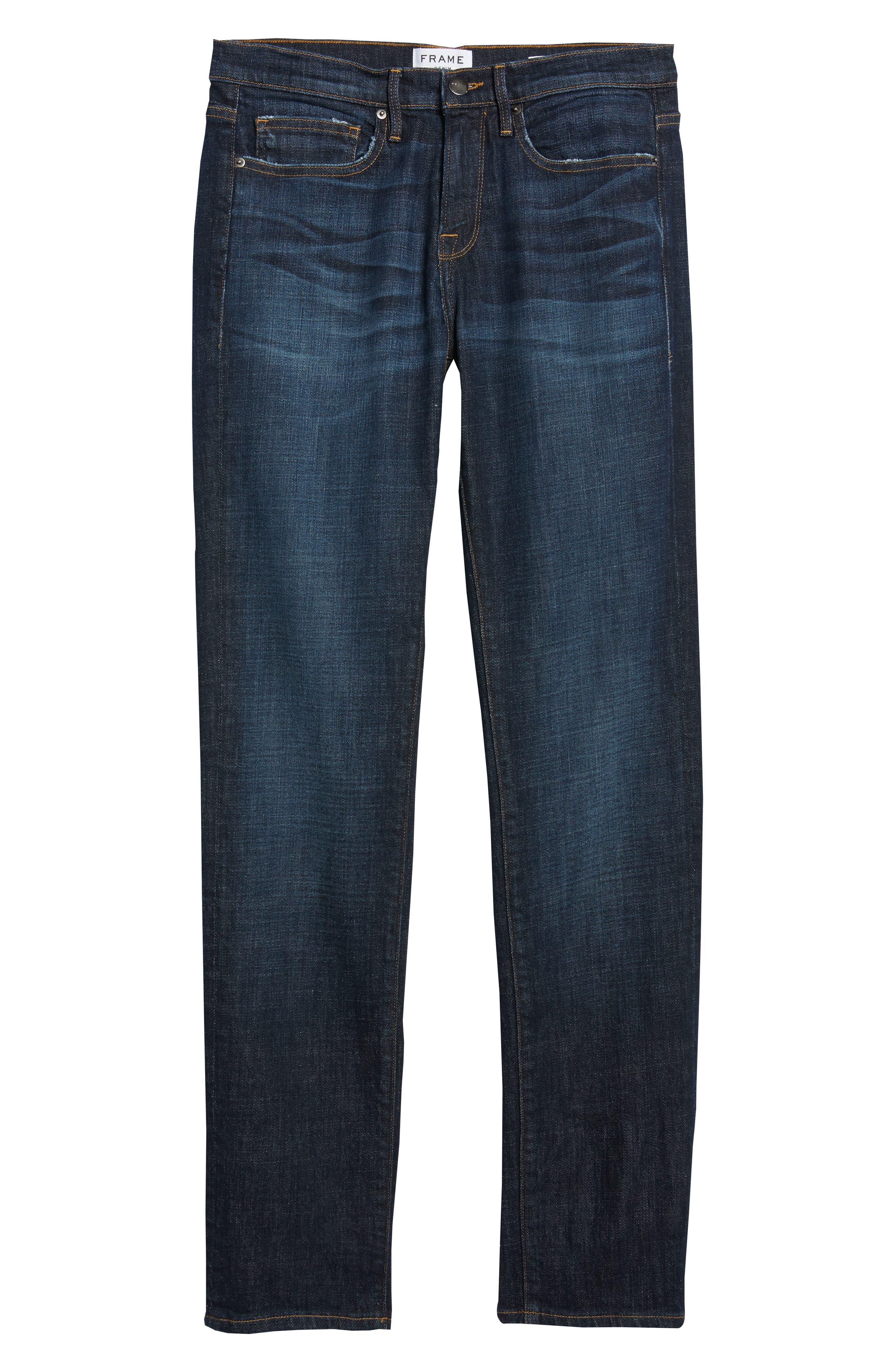 L'Homme Slim Fit Jeans,                             Alternate thumbnail 6, color,                             421