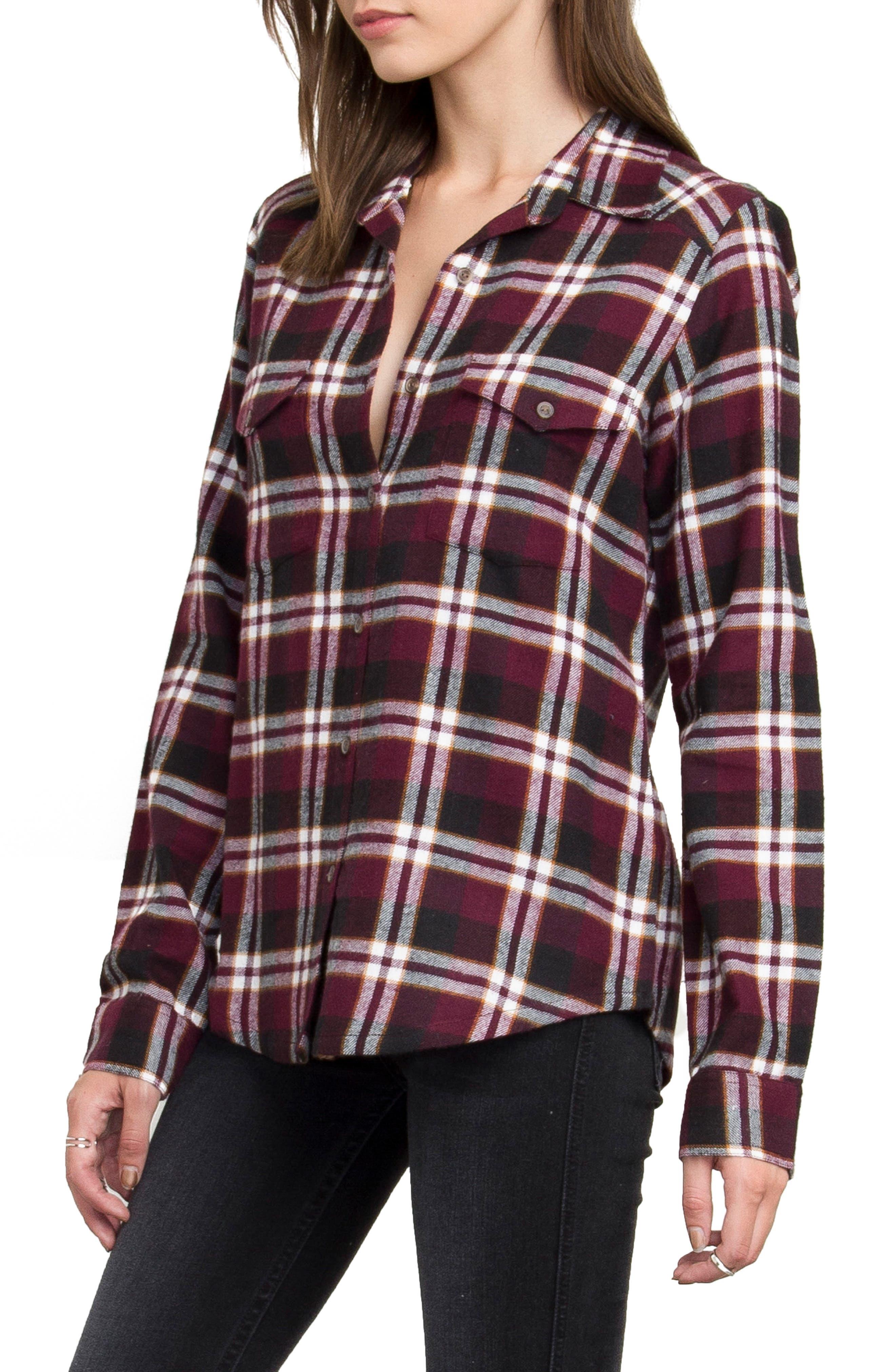 Plaid Flannel Shirt,                             Main thumbnail 7, color,