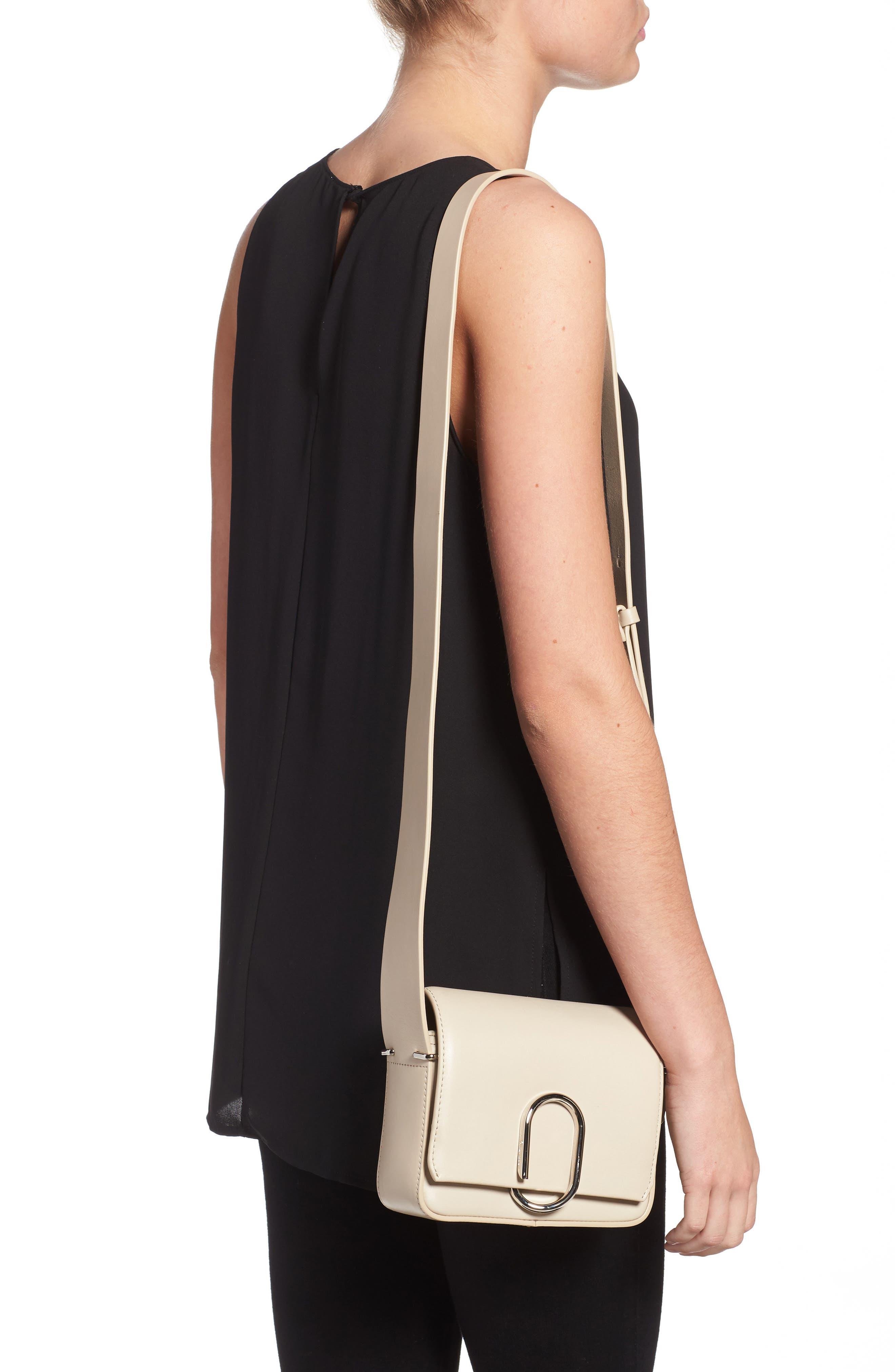 'Mini Alix' Leather Shoulder Bag,                             Alternate thumbnail 2, color,                             110