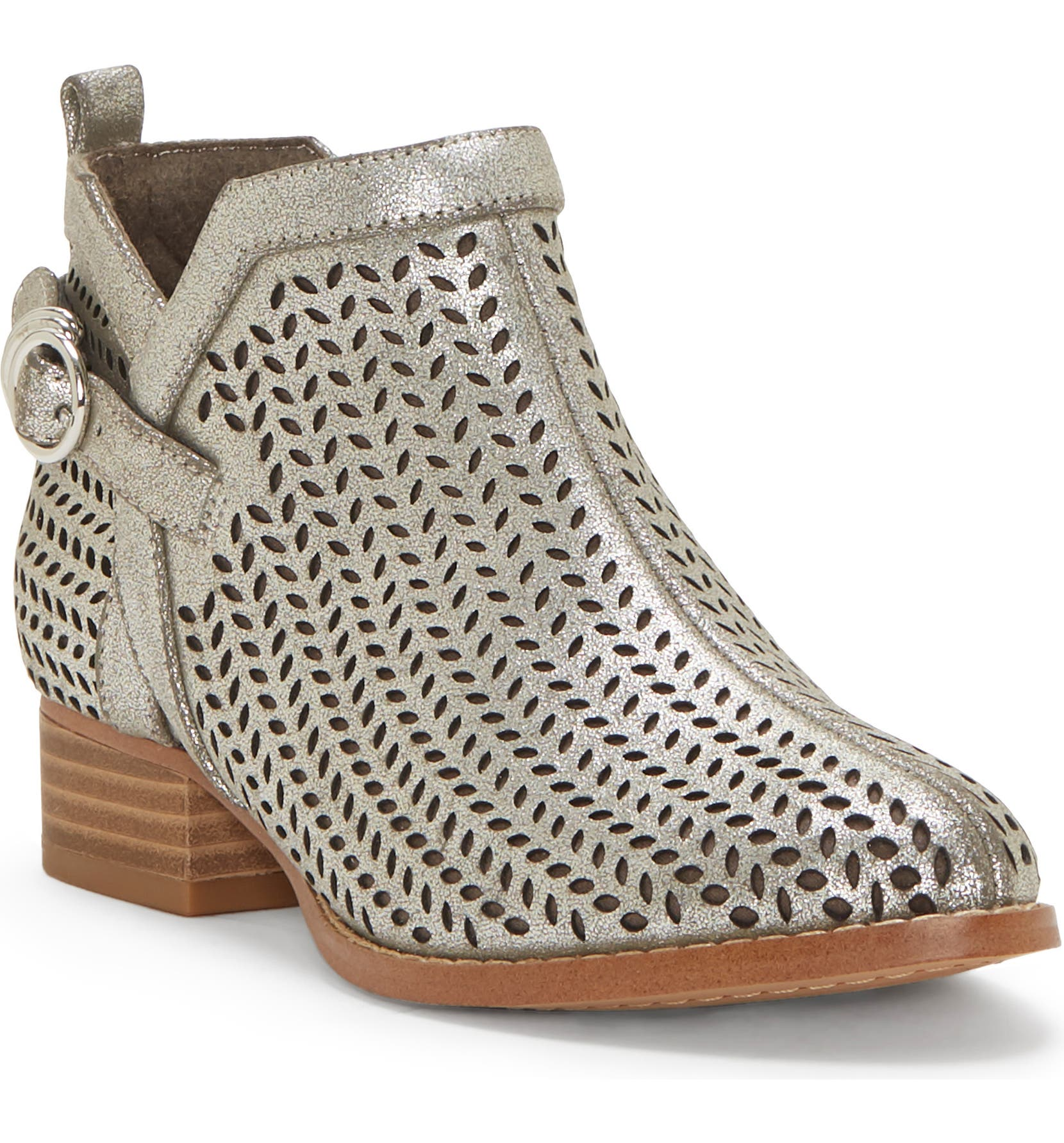 c8a92566767b Vince Camuto Campina Perforated Bootie (Toddler