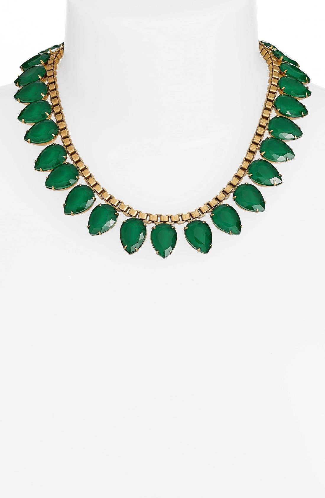 'Sylvia' Crystal Collar Necklace,                             Alternate thumbnail 14, color,