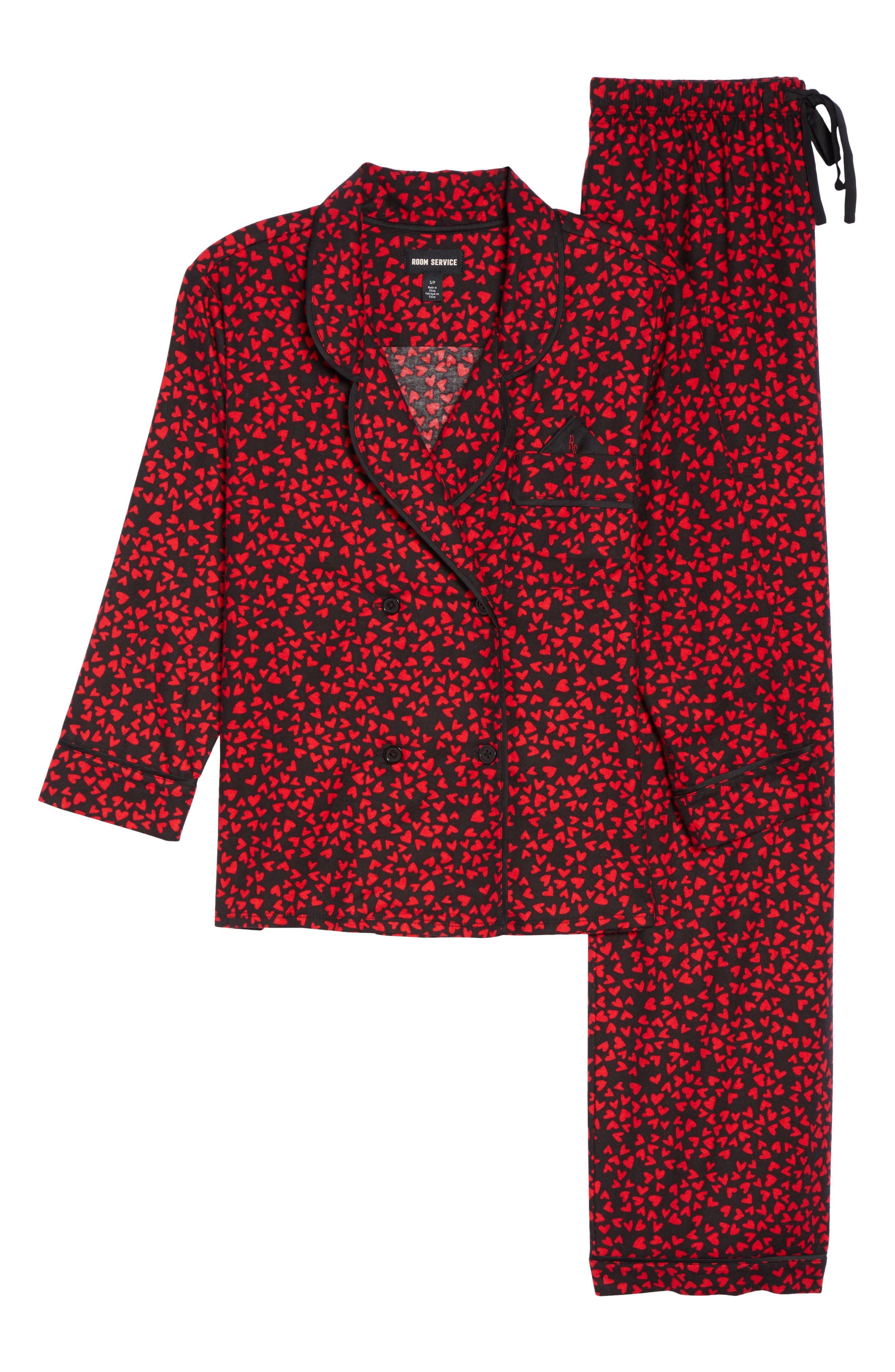 Flannel Pajamas,                             Alternate thumbnail 18, color,