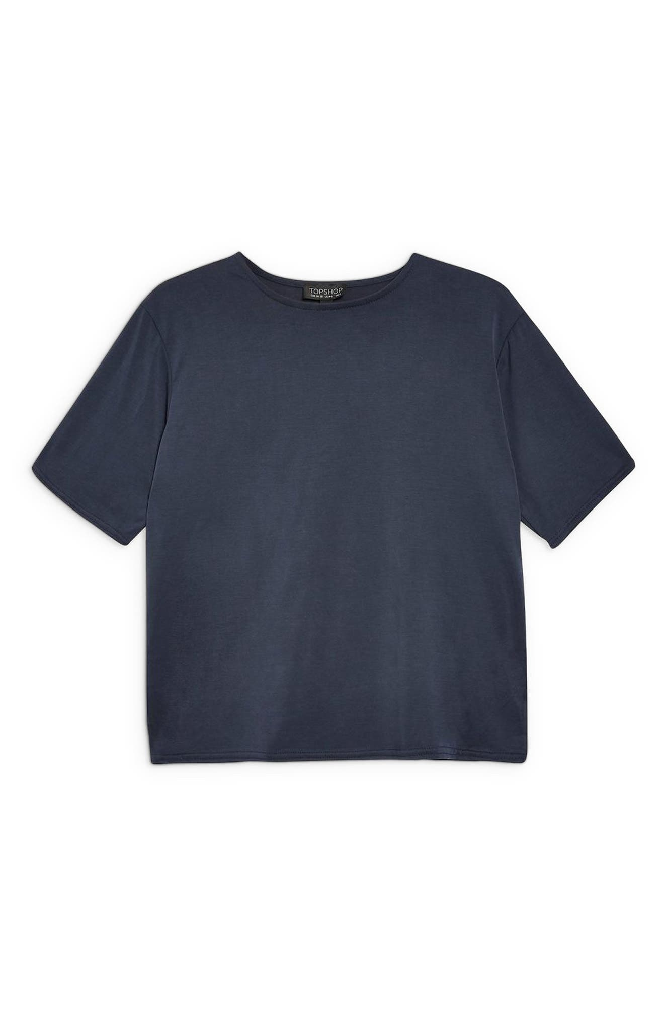 Lounge Tee,                             Alternate thumbnail 3, color,                             NAVY BLUE