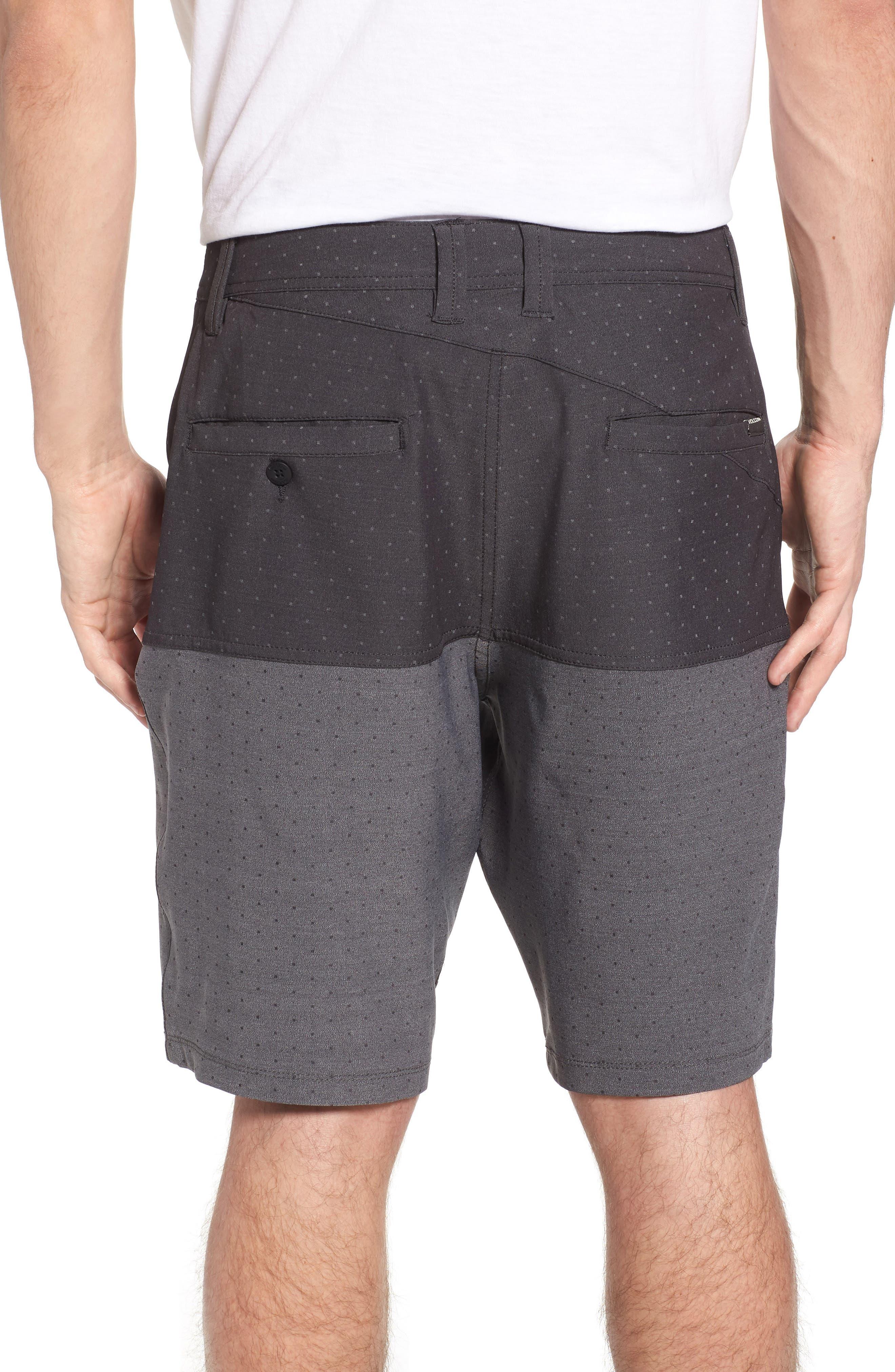 Surf N' Turf Block Hybrid Shorts,                             Alternate thumbnail 2, color,                             001