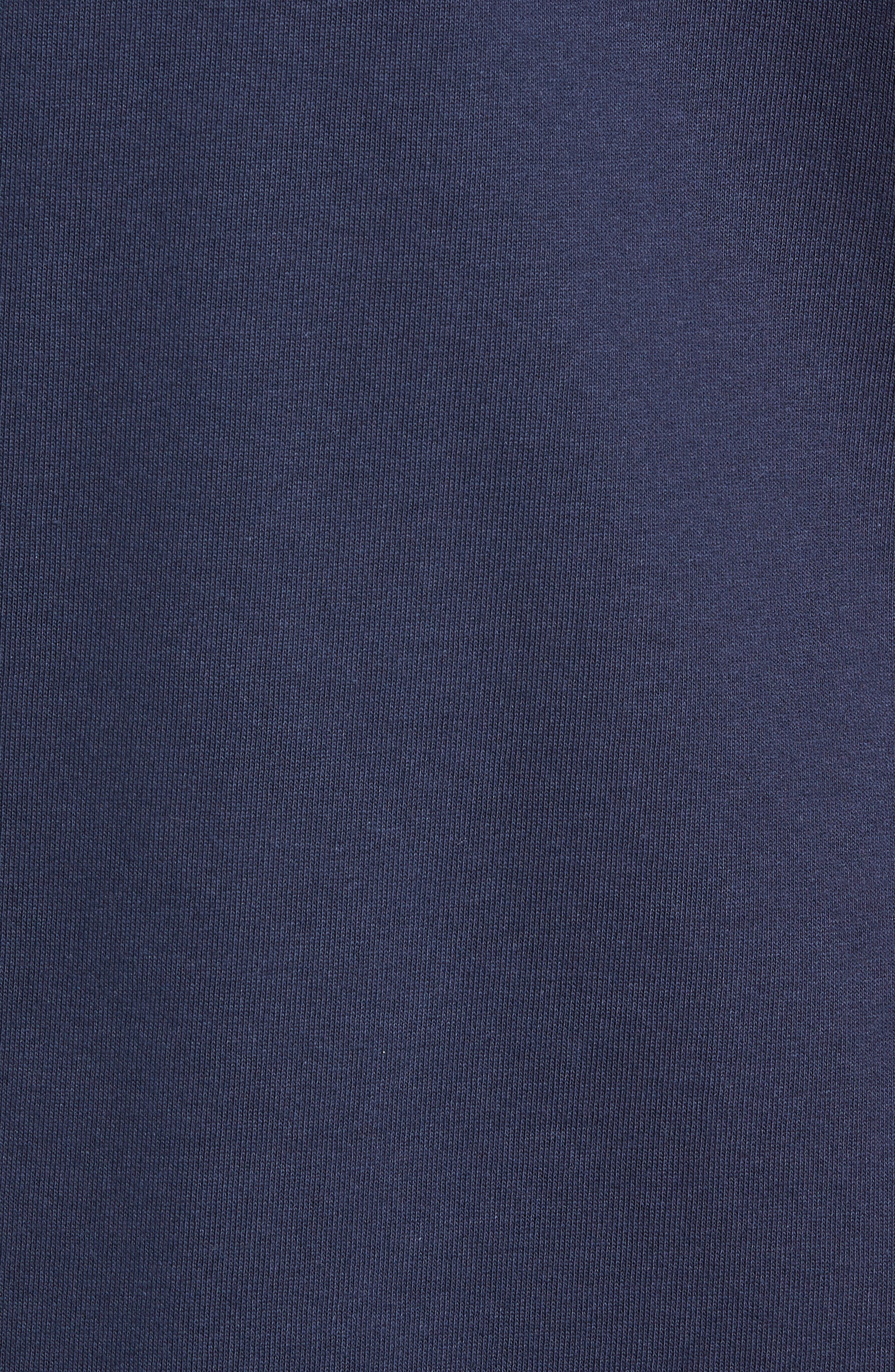 TJM Essential Rugby Shirt,                             Alternate thumbnail 5, color,                             BLACK IRIS