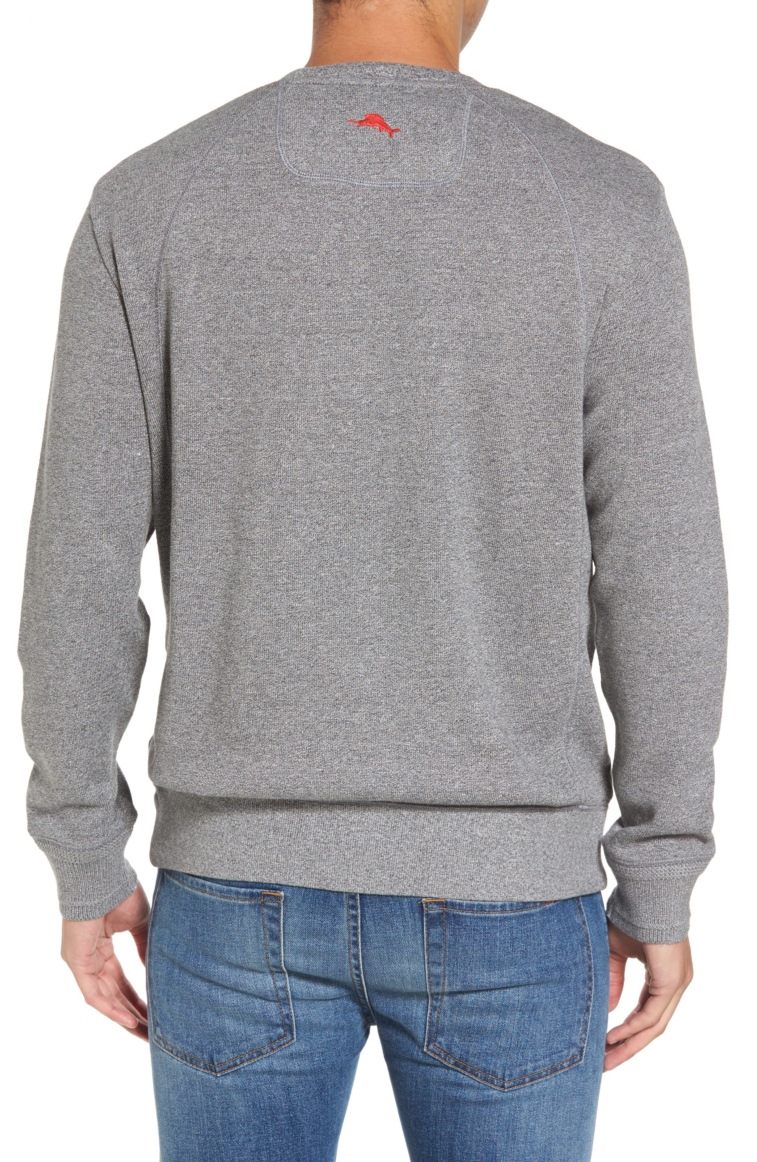 NFL Stitch of Liberty Embroidered Crewneck Sweatshirt,                             Alternate thumbnail 42, color,