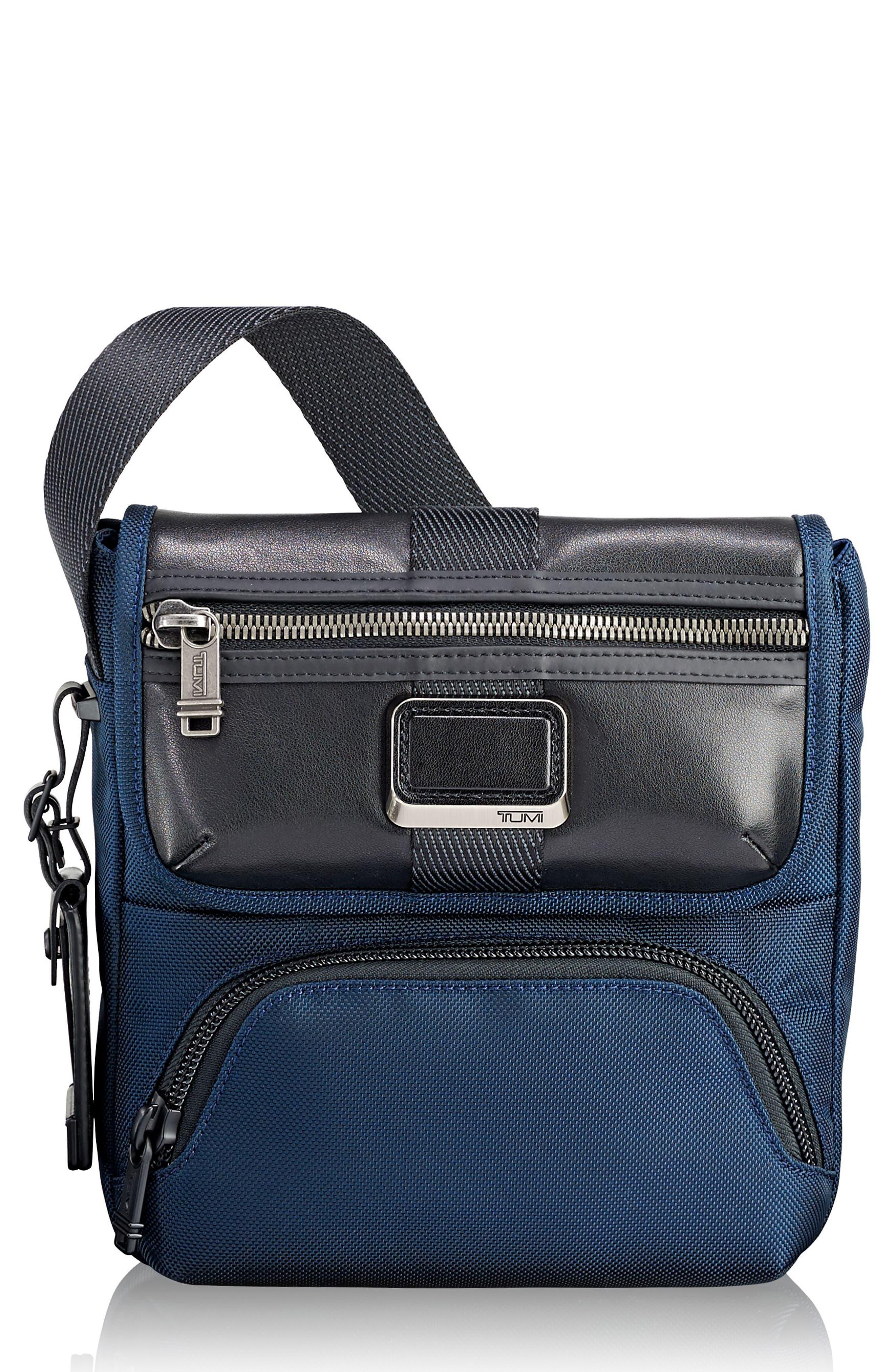 Alpha Bravo - Barton Crossbody Bag,                         Main,                         color, NAVY