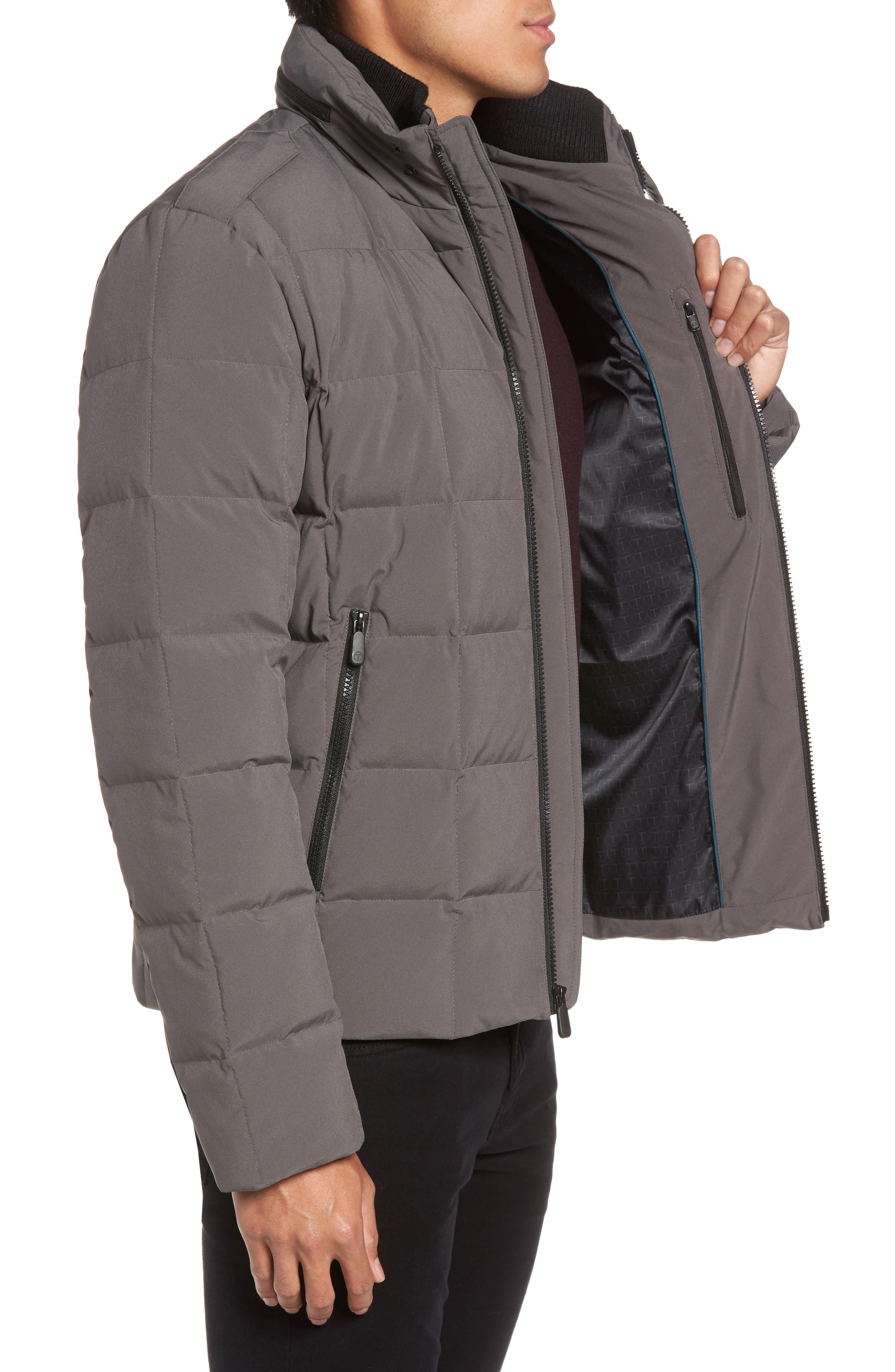 Box Quilted Jacket,                             Alternate thumbnail 6, color,