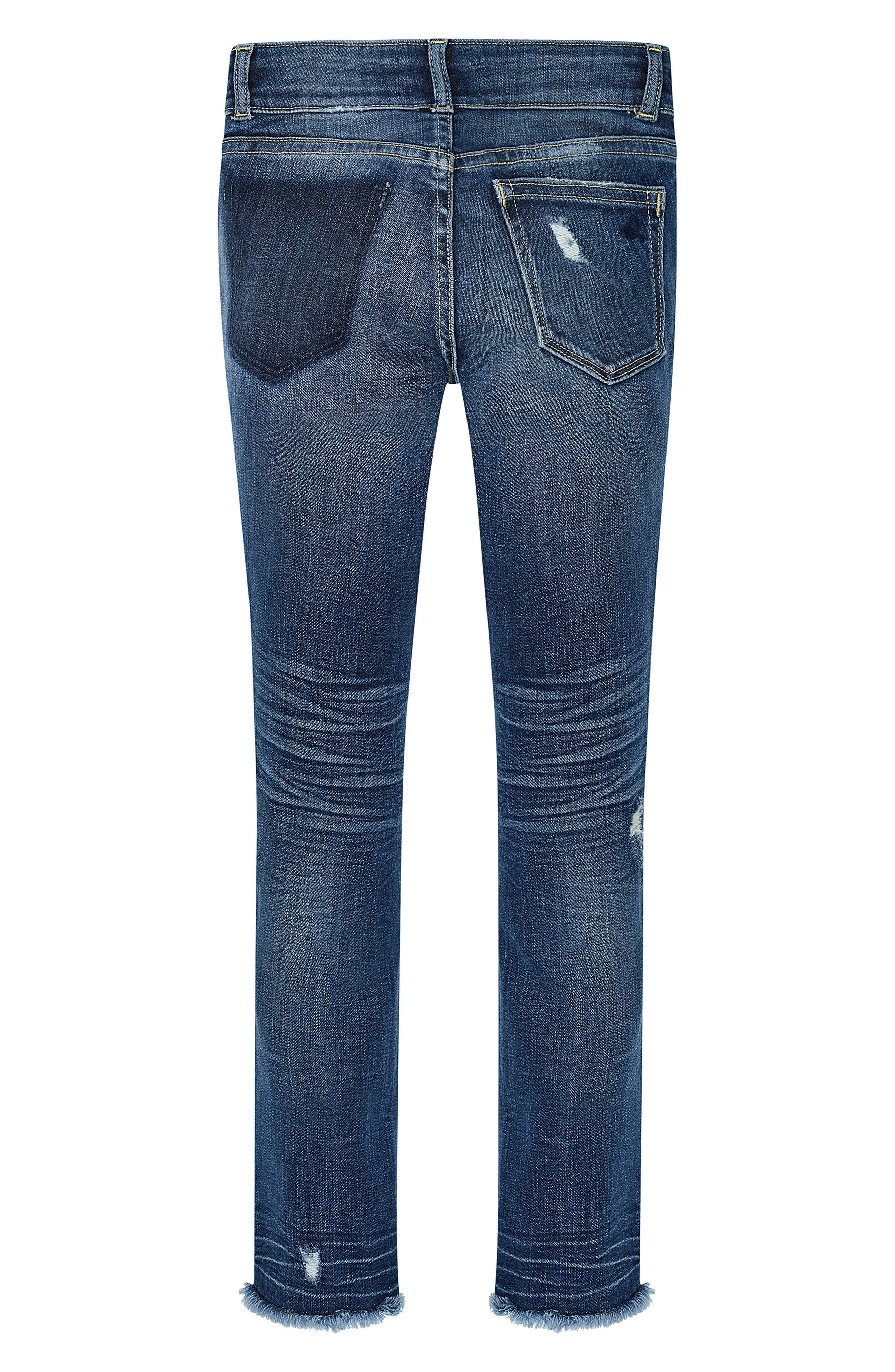 Distressed Skinny Jeans,                         Main,                         color, 425