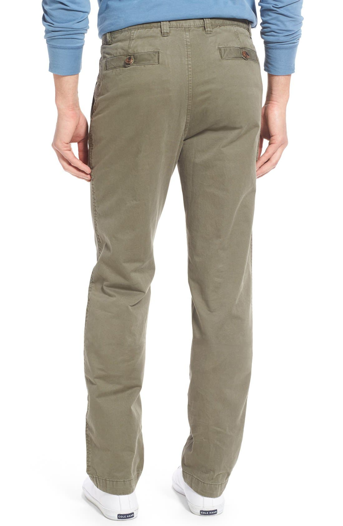 'Sahara' Trim Fit Vintage Washed Twill Chinos,                             Alternate thumbnail 15, color,