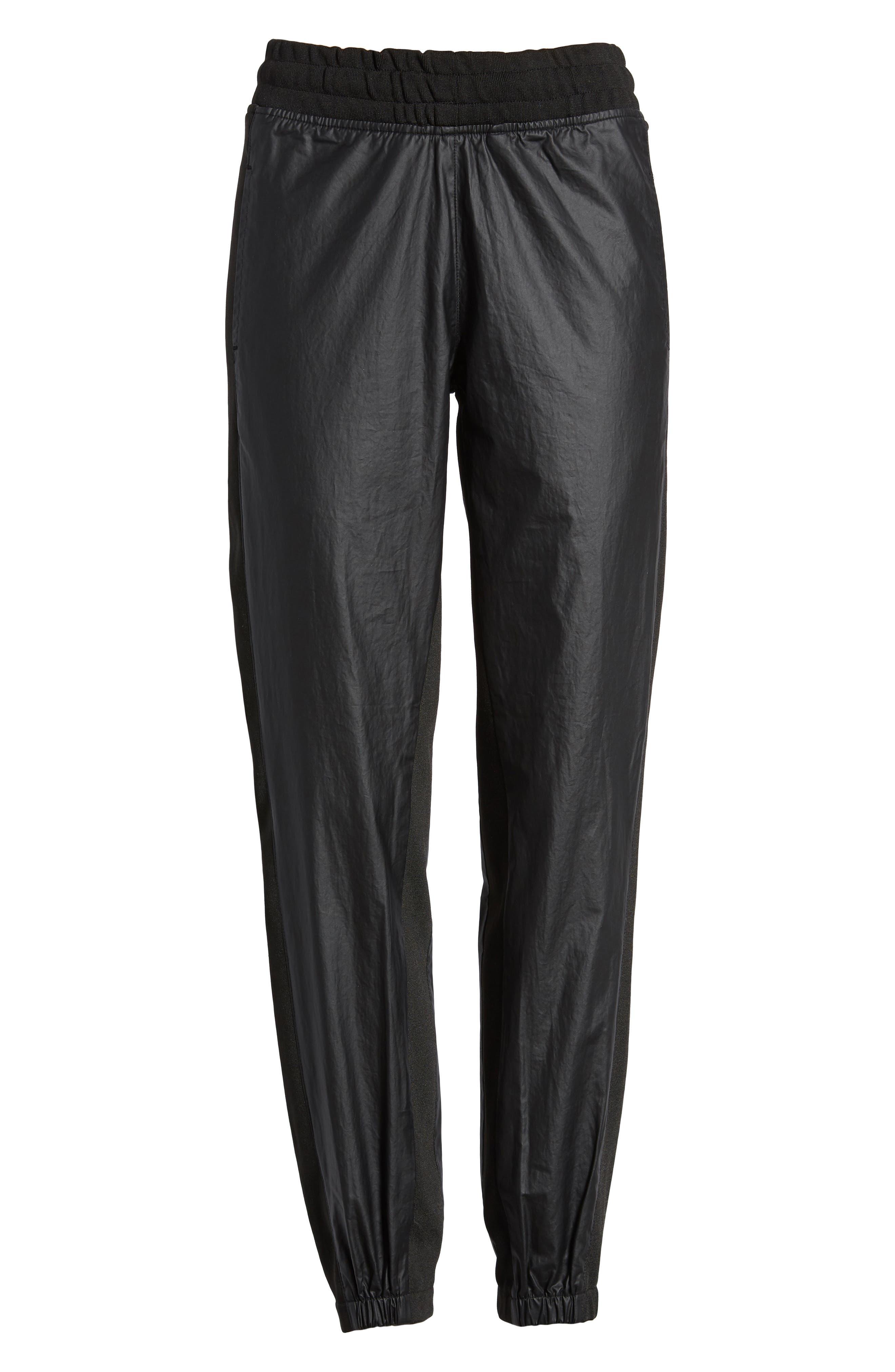 Paneled Jogger Pants,                             Alternate thumbnail 6, color,                             001