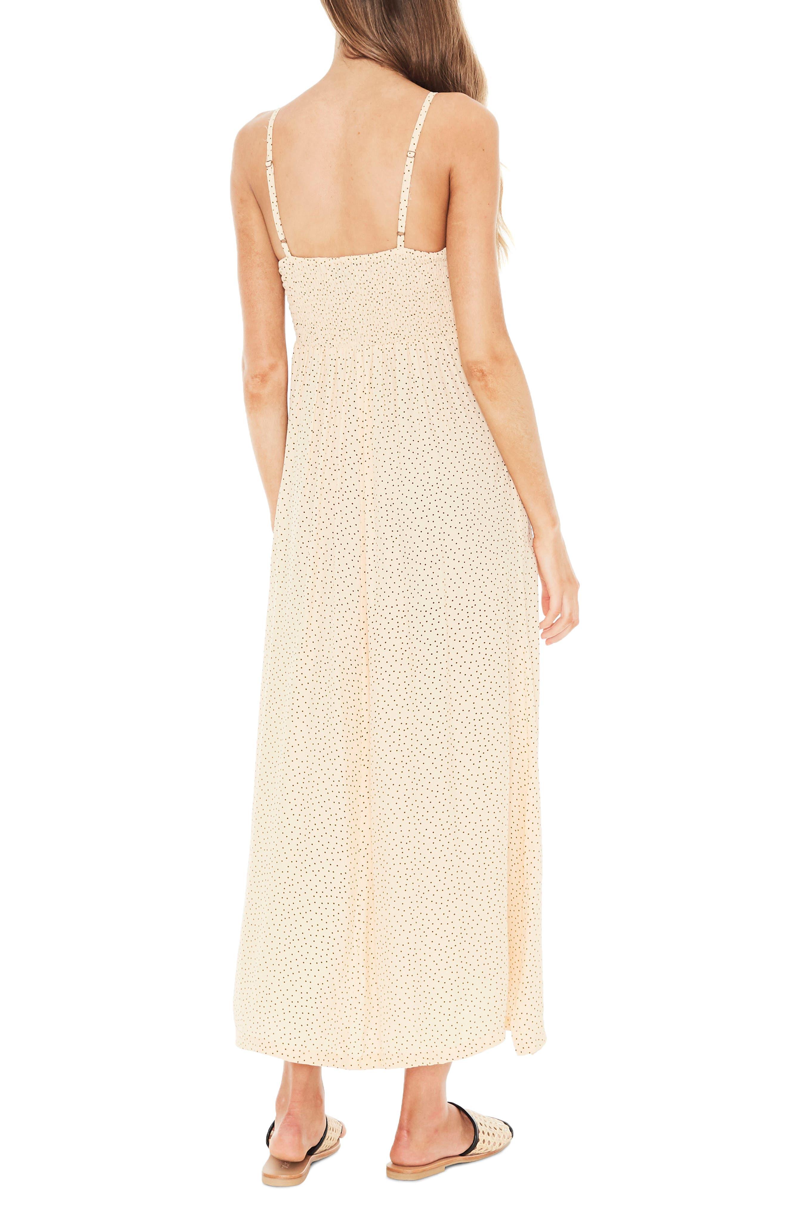 Mirador Lace-Up Midi Dress,                             Alternate thumbnail 2, color,                             900
