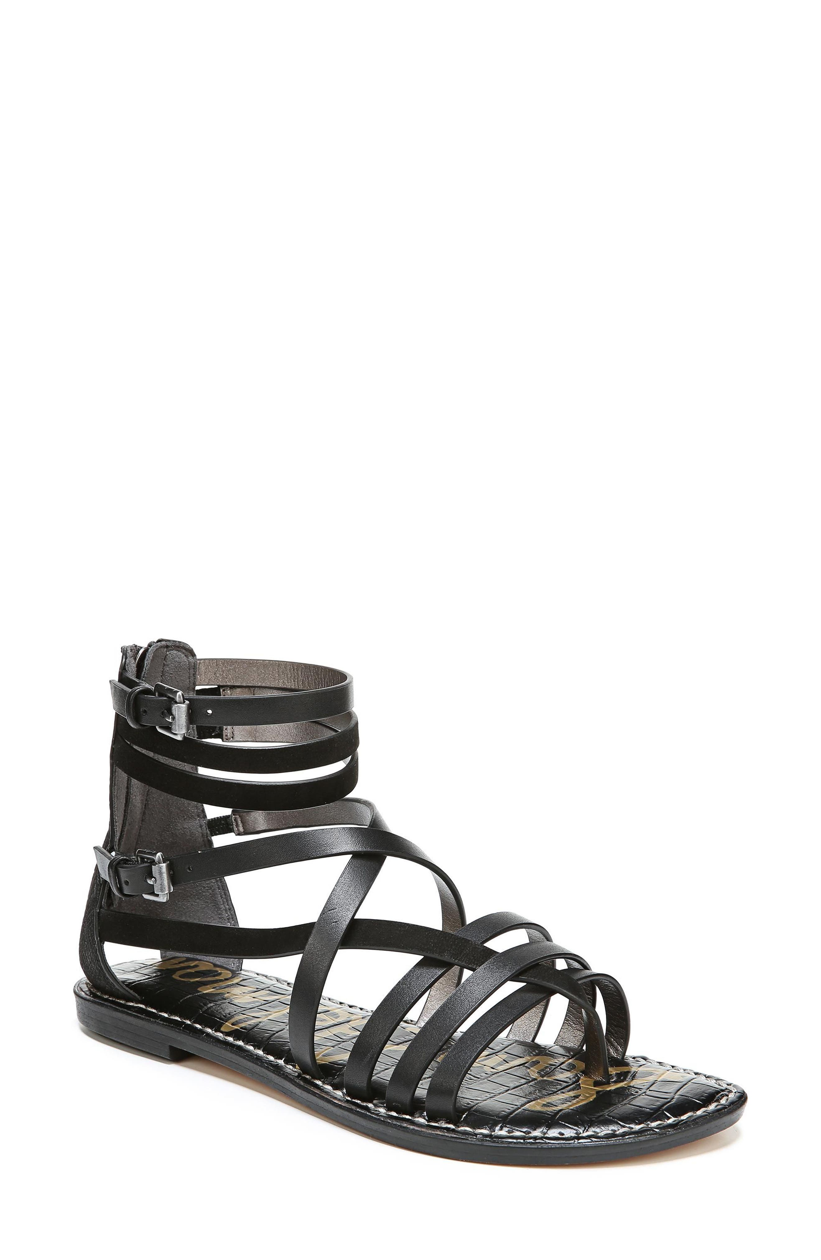 Ganesa Strappy Sandal,                         Main,                         color, 001