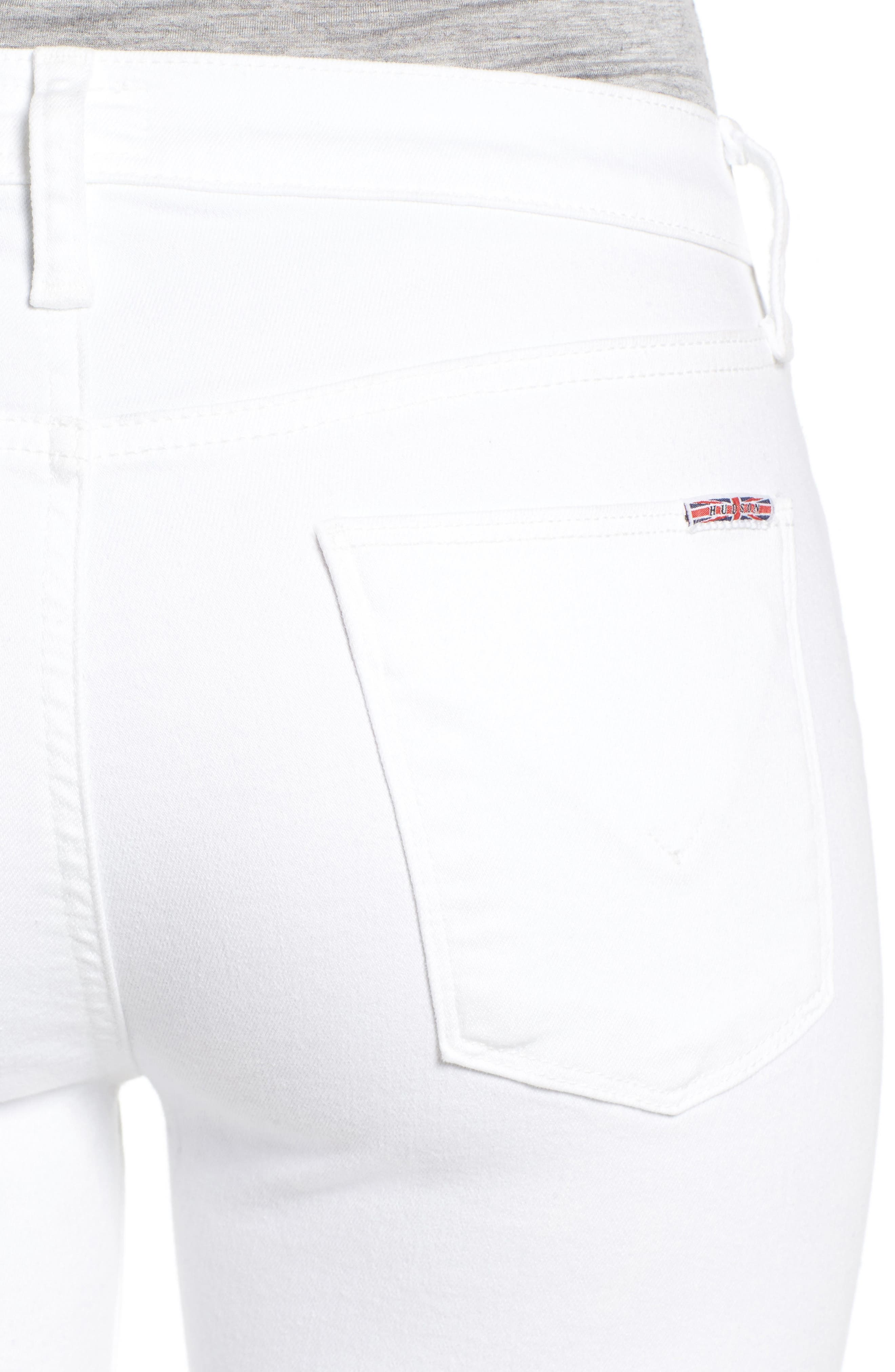 Harper High Rise Crop Jeans,                             Alternate thumbnail 8, color,
