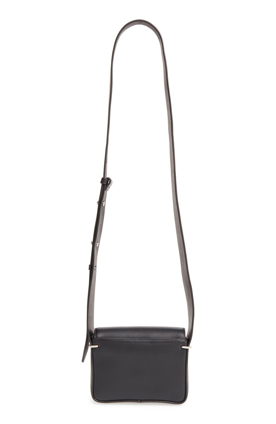 'Mini Alix' Leather Shoulder Bag,                             Alternate thumbnail 8, color,