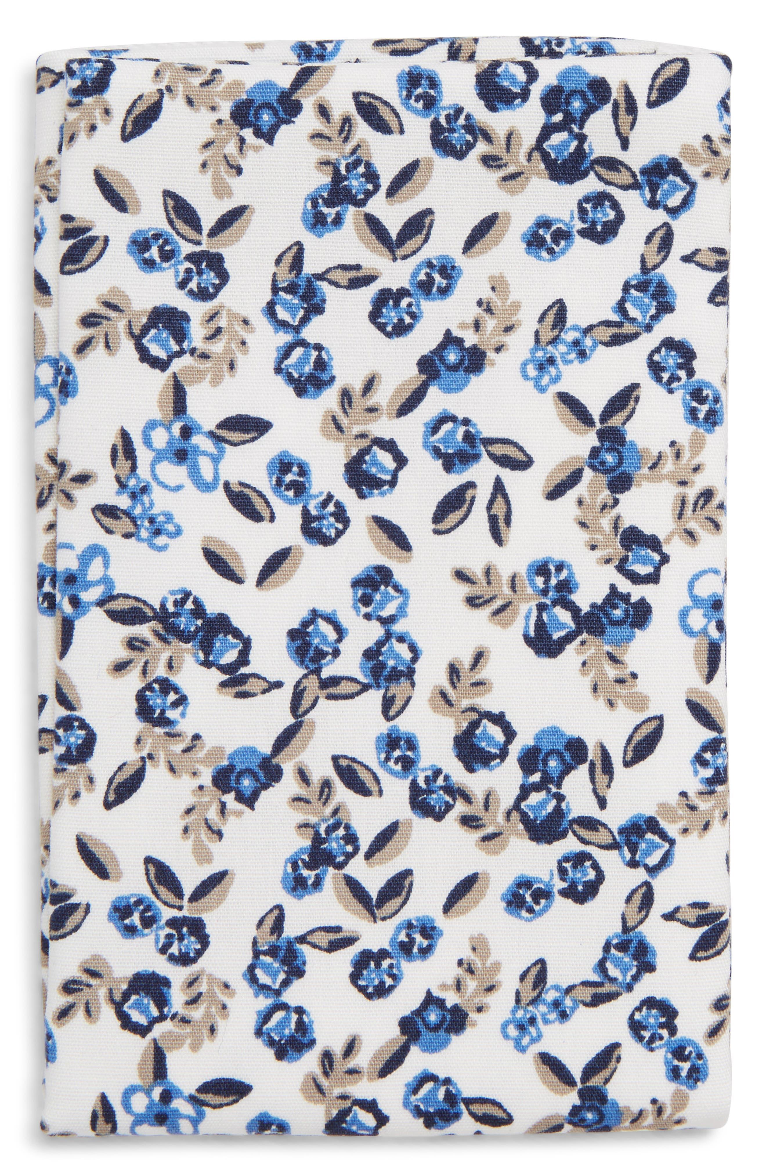 Floral Pocket Square,                             Alternate thumbnail 2, color,                             WHITE