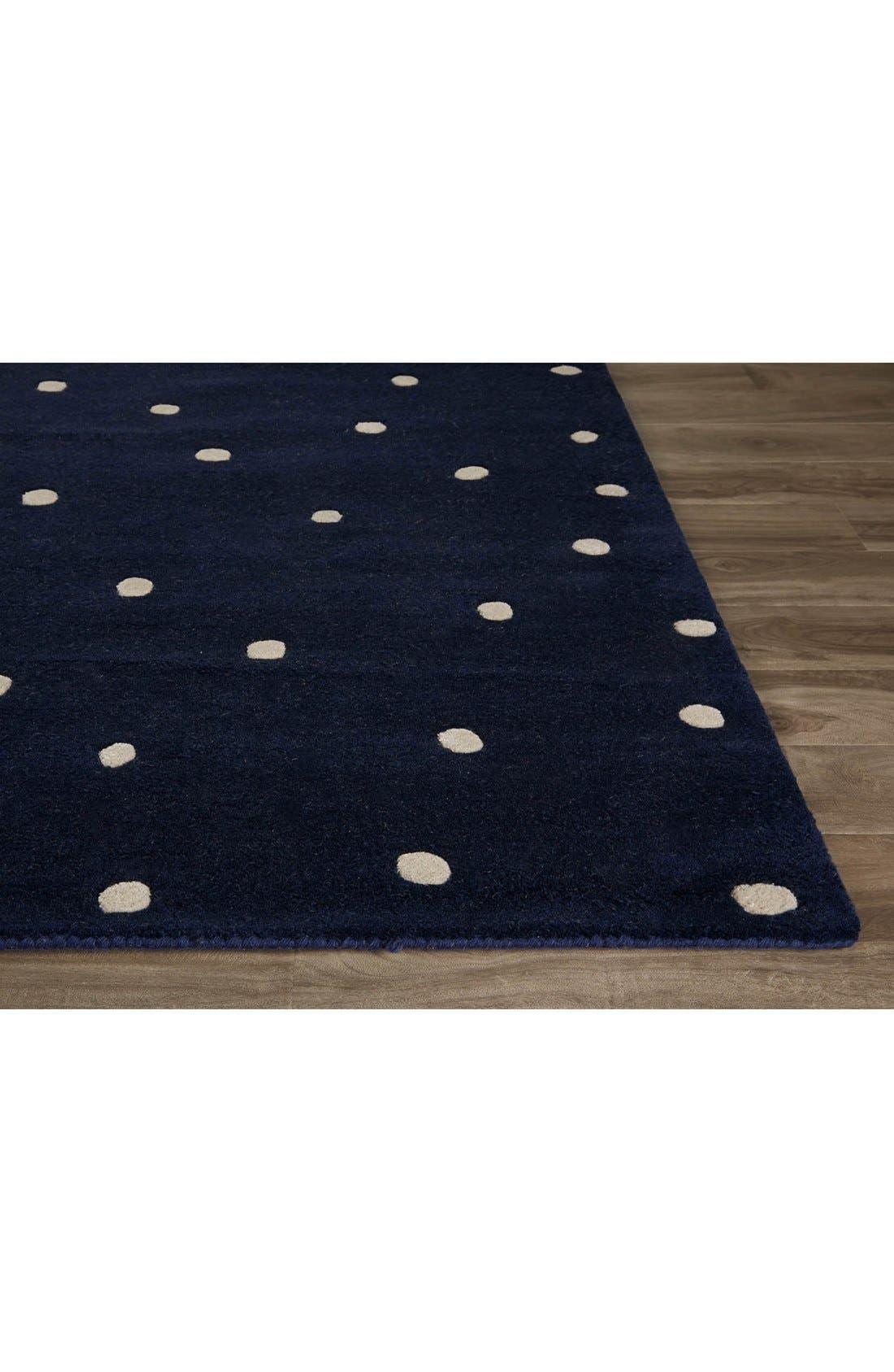 'gramercy - dots' rug,                             Alternate thumbnail 8, color,