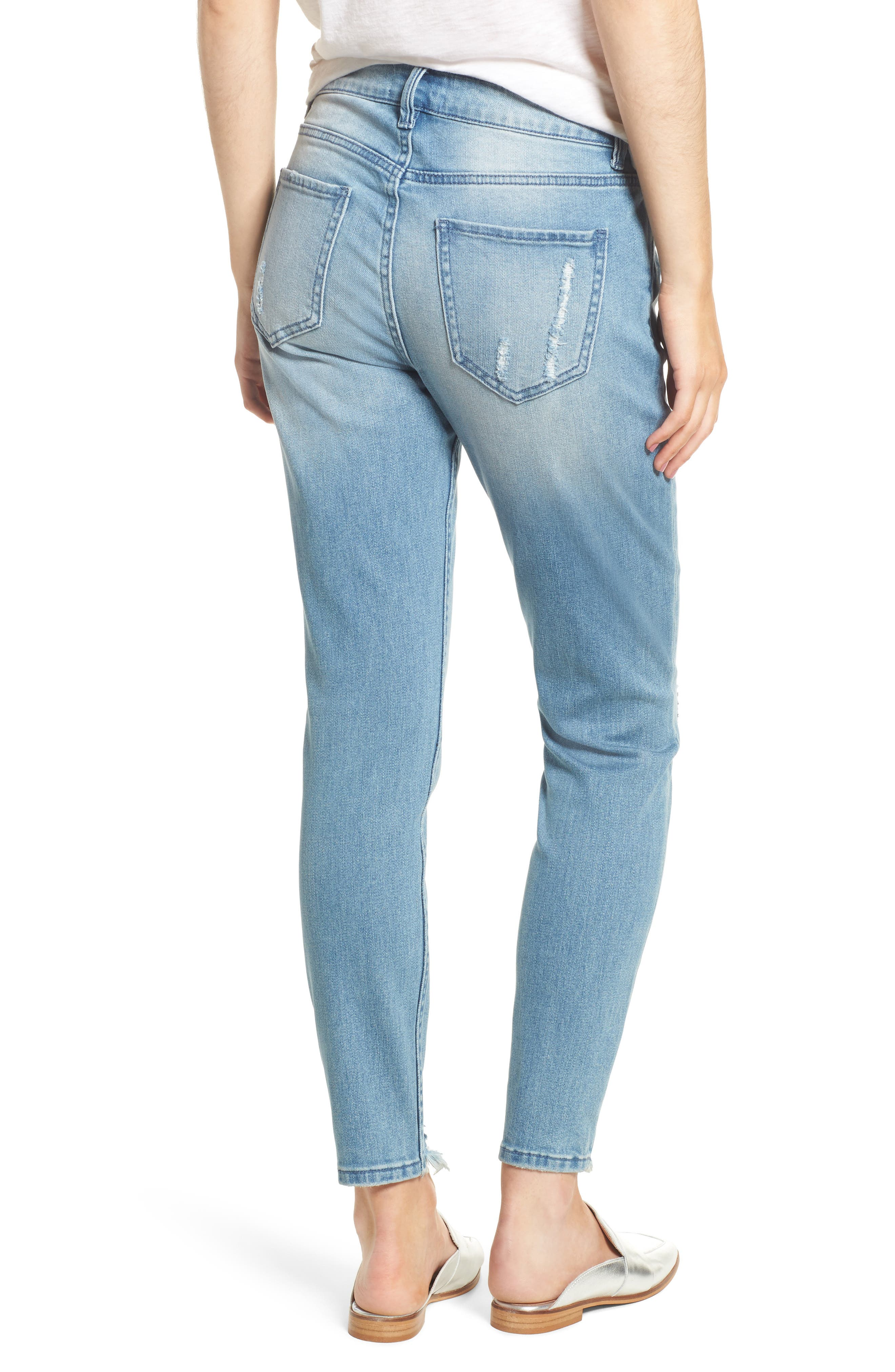 Verona Skinny Jeans,                             Alternate thumbnail 2, color,                             403