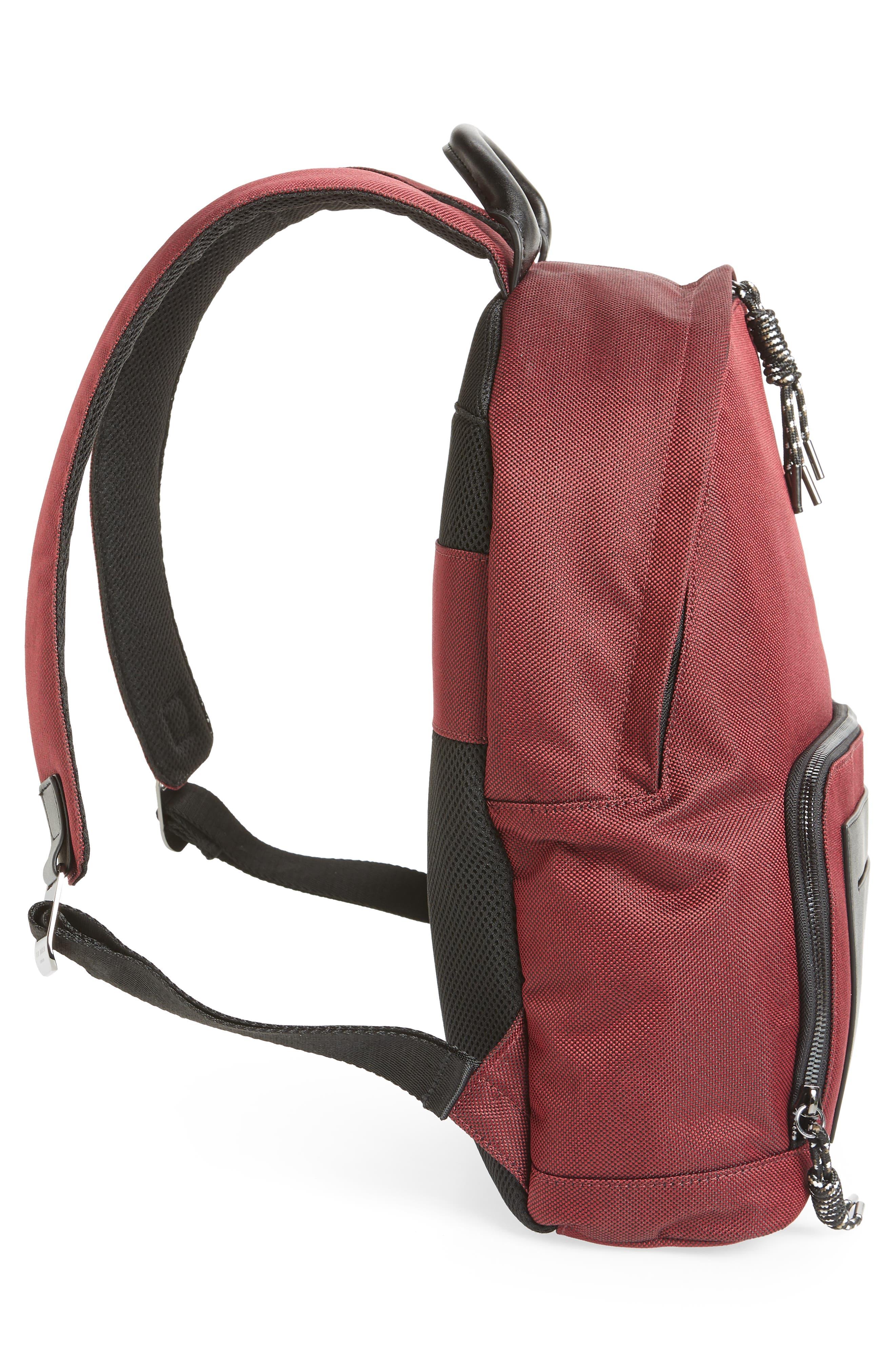 Filer Backpack,                             Alternate thumbnail 5, color,                             RED