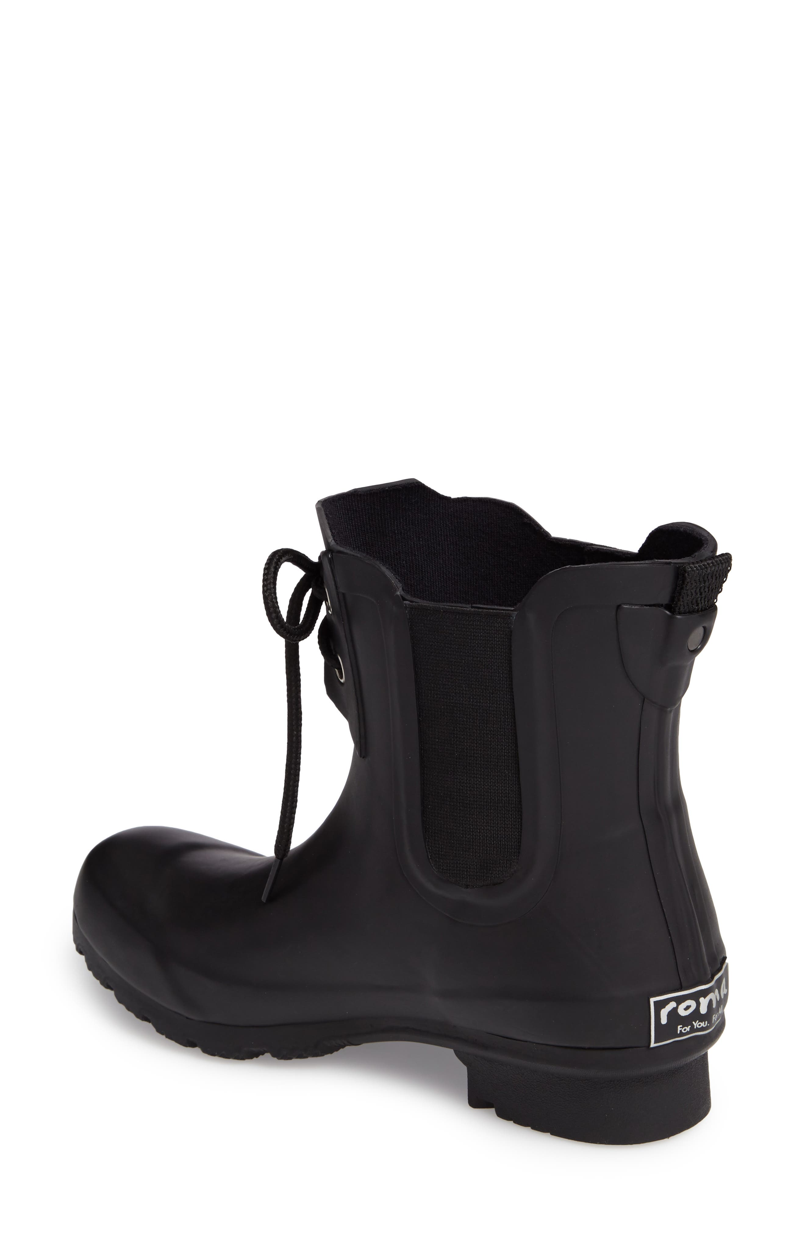 Waterproof Chelsea Rain Boot,                             Alternate thumbnail 2, color,                             012