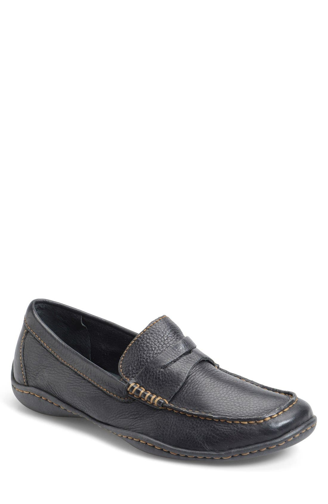 'Simon' Penny Loafer,                         Main,                         color, 001