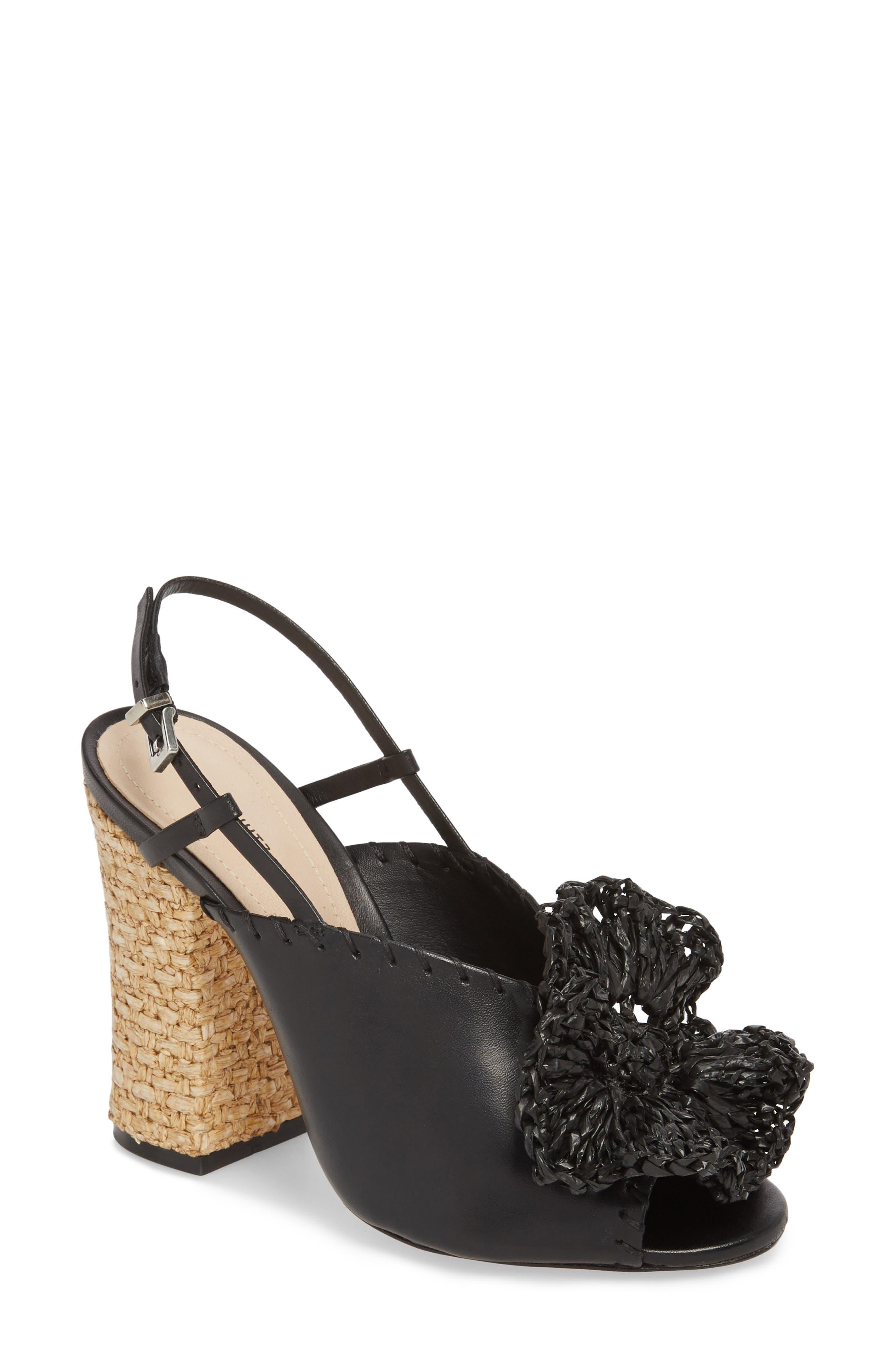 SCHUTZ Milani Sandal, Main, color, BLACK