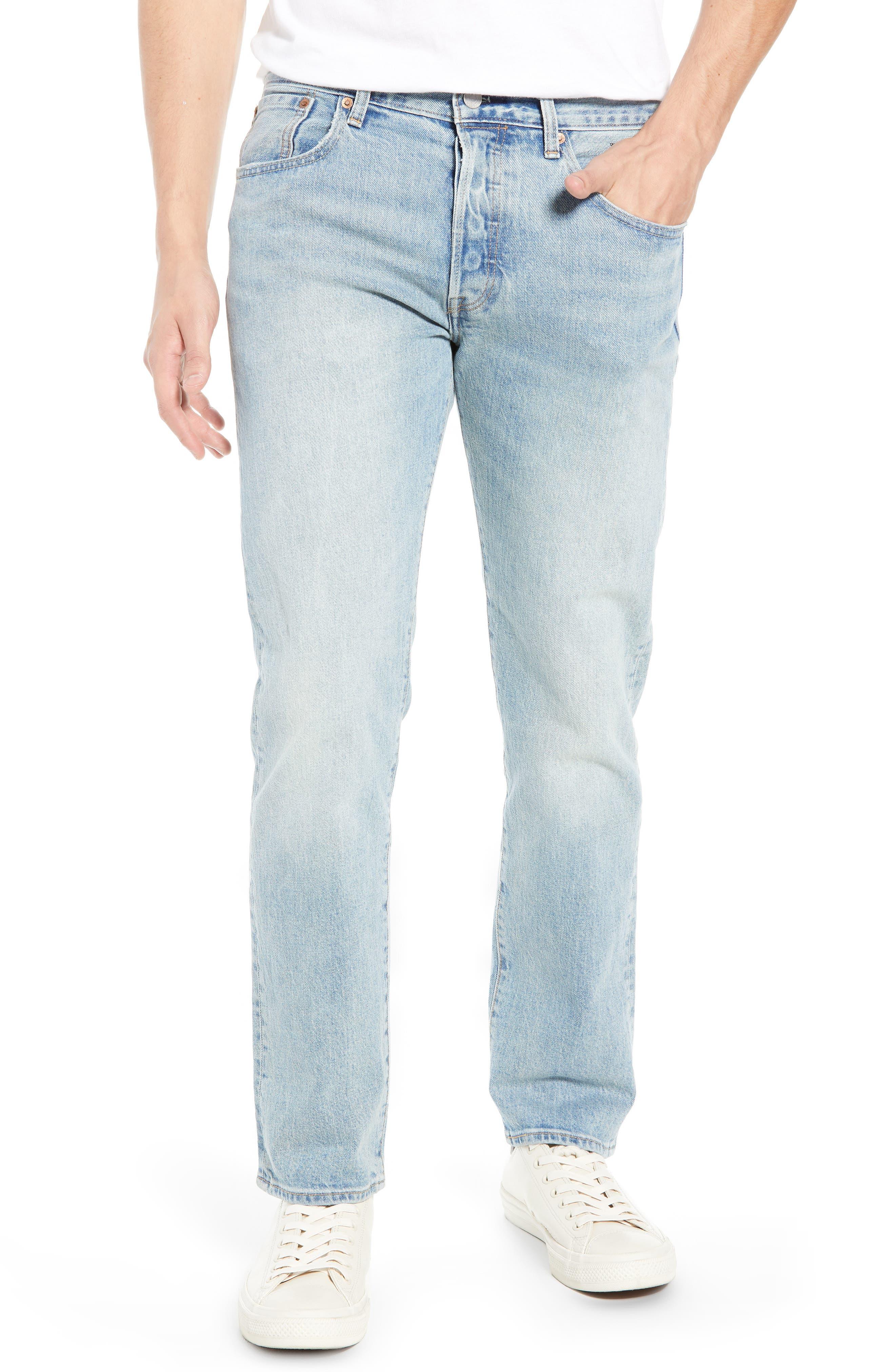 x Justin Timberlake 501<sup>®</sup> Slim Taper Jeans,                         Main,                         color, HILLMAN