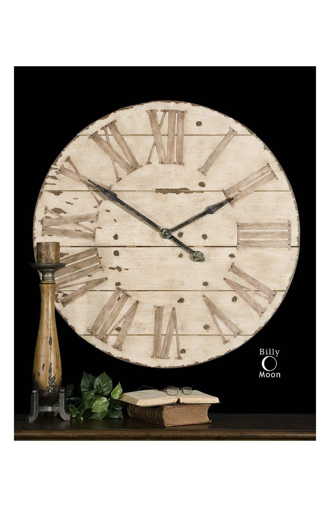 'Harrington' Wall Clock,                             Alternate thumbnail 5, color,